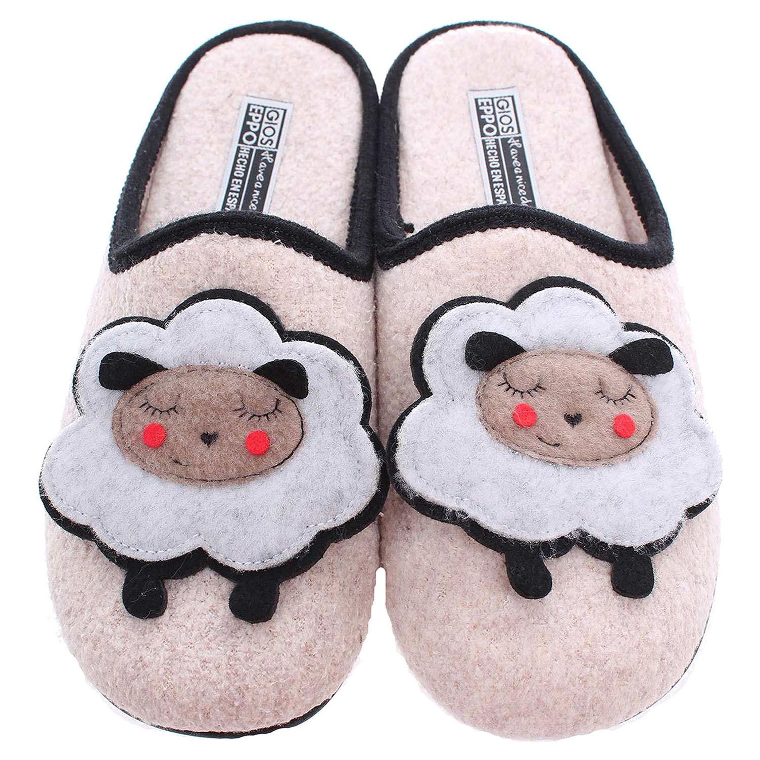 Gioseppo Arenda domácí pantofle béžové 36