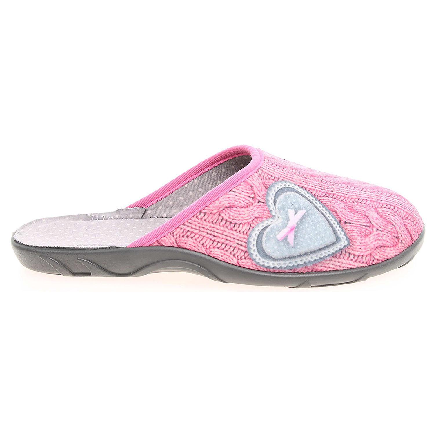 Befado dámské pantofle 235D144 růžové 41