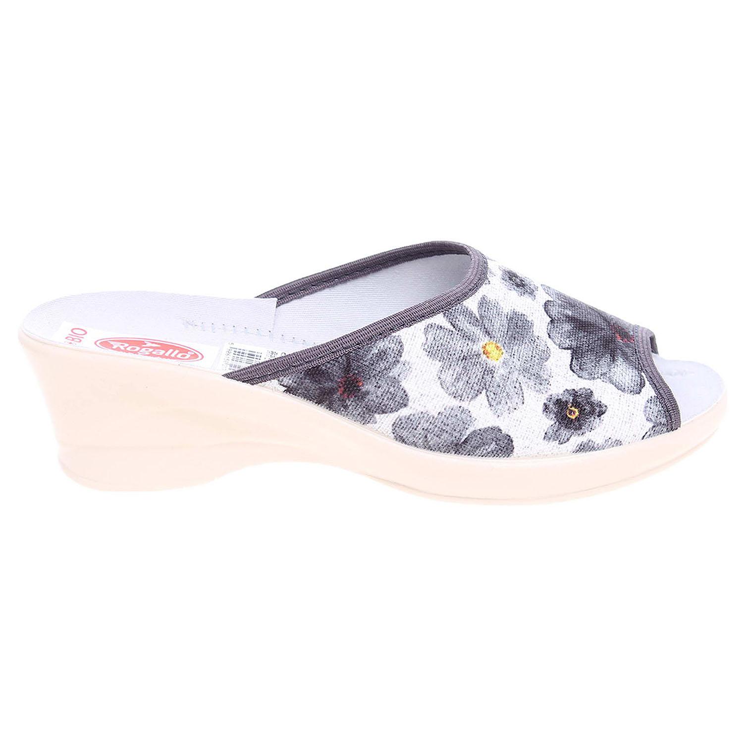 Rogallo domácí dámské pantofle 21704 šedé 41