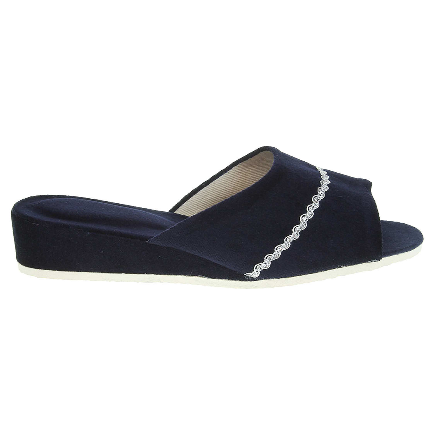 Ecco Dámské domácí pantofle 1029.00 modré 23500488