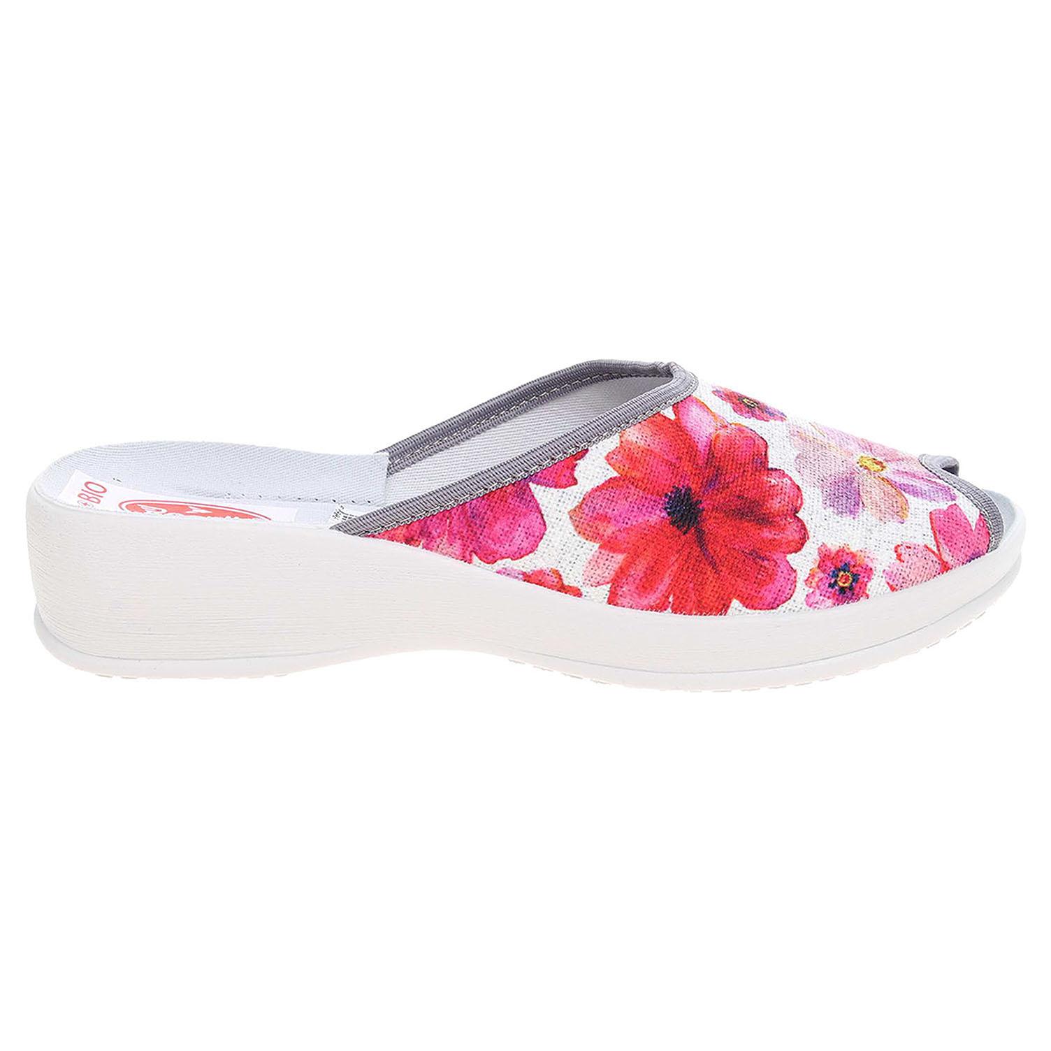 Ecco Rogallo domácí pantofle 21563 růžové 23500496