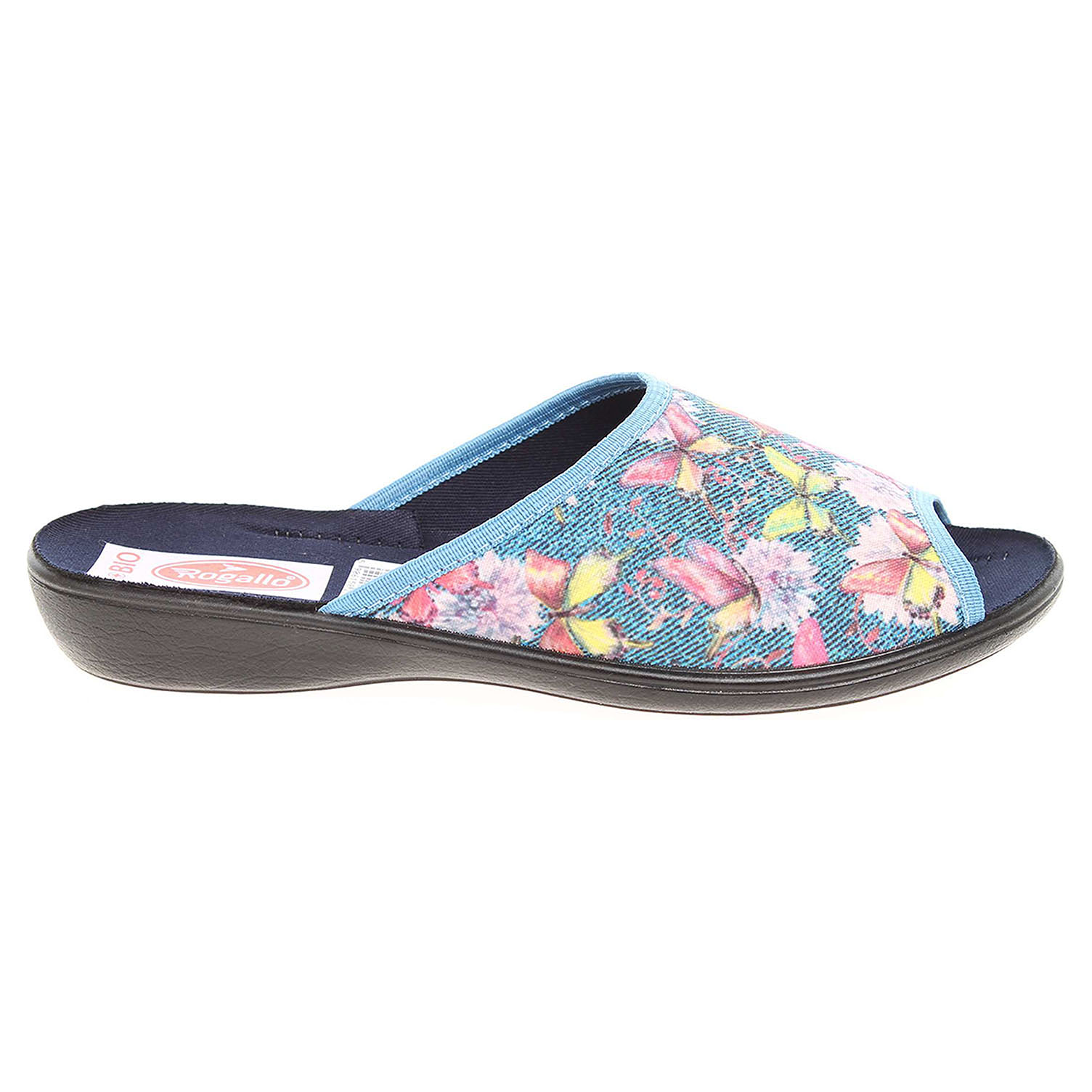 Rogallo dámské pantofle 21510 modré 41