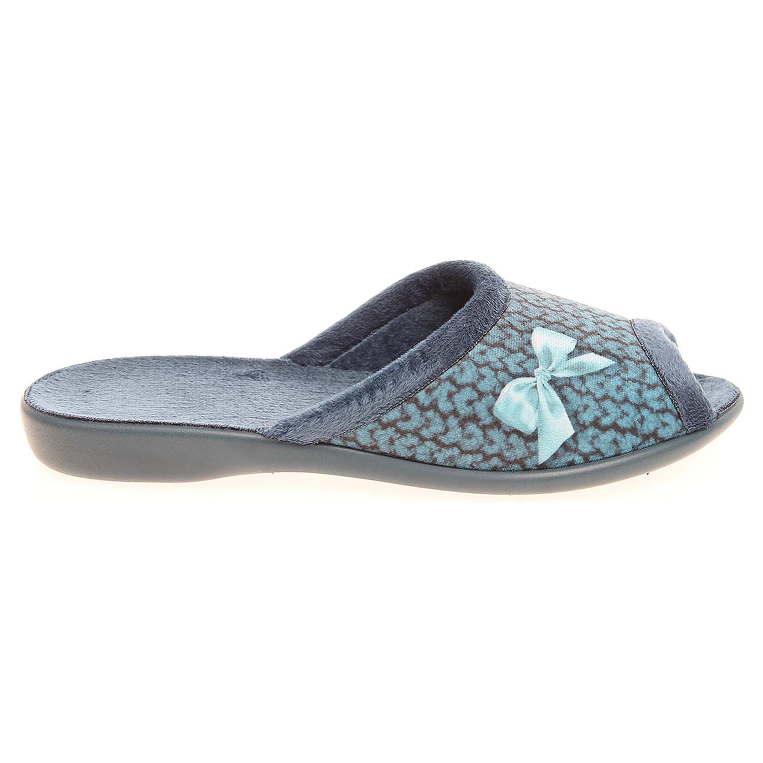 Ecco Befado domácí pantofle 254D069 modré 23500515