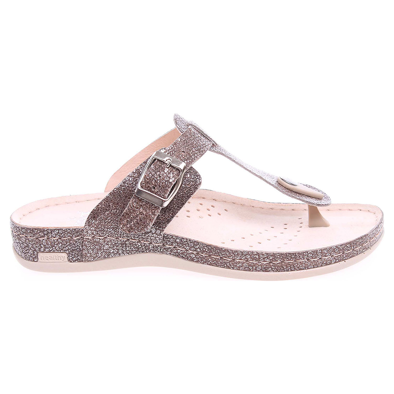 Ecco Caprice dámské pantofle 9-27103-26 hnědé 23600703