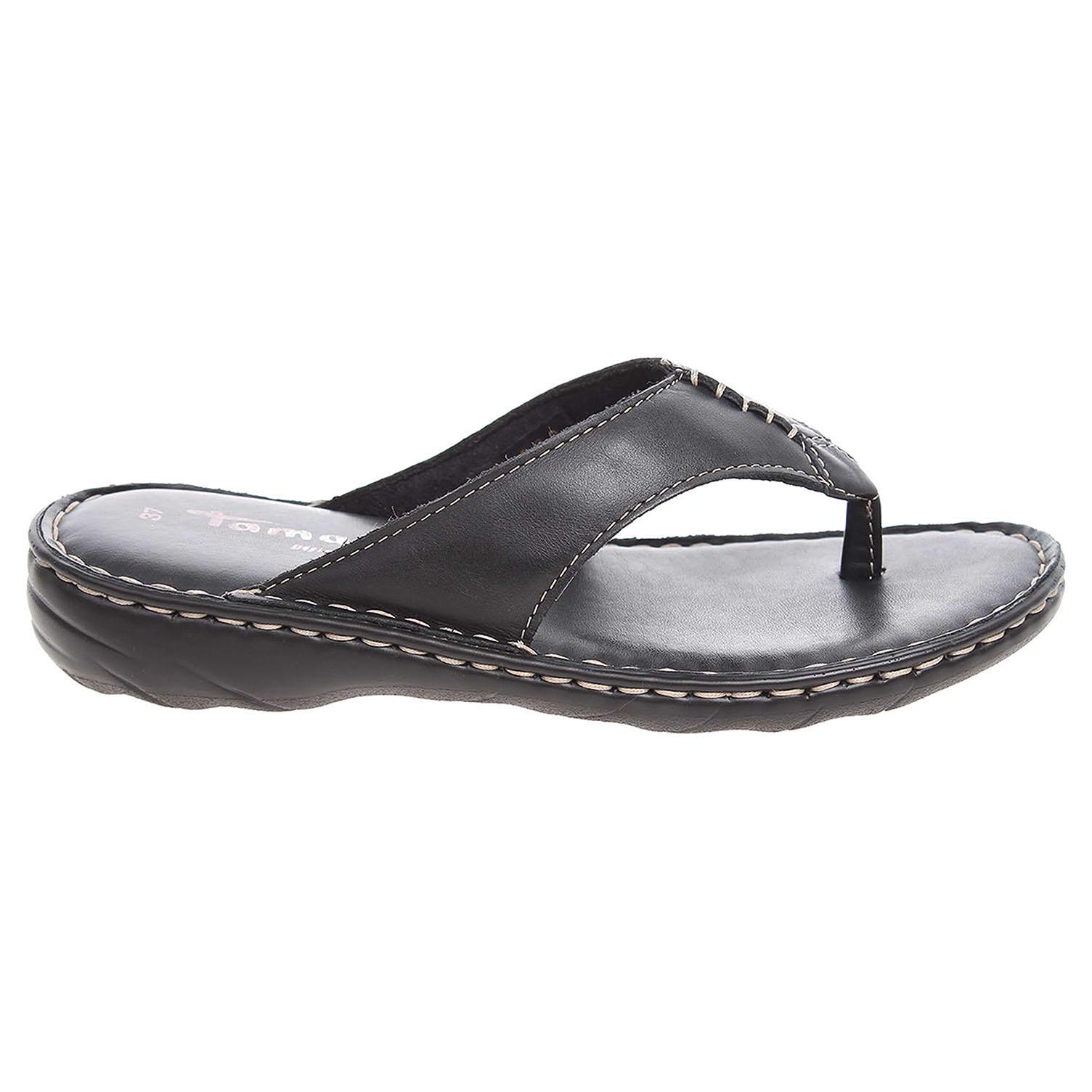 Ecco Tamaris dámské pantofle 1-27210-26 černé 23600720