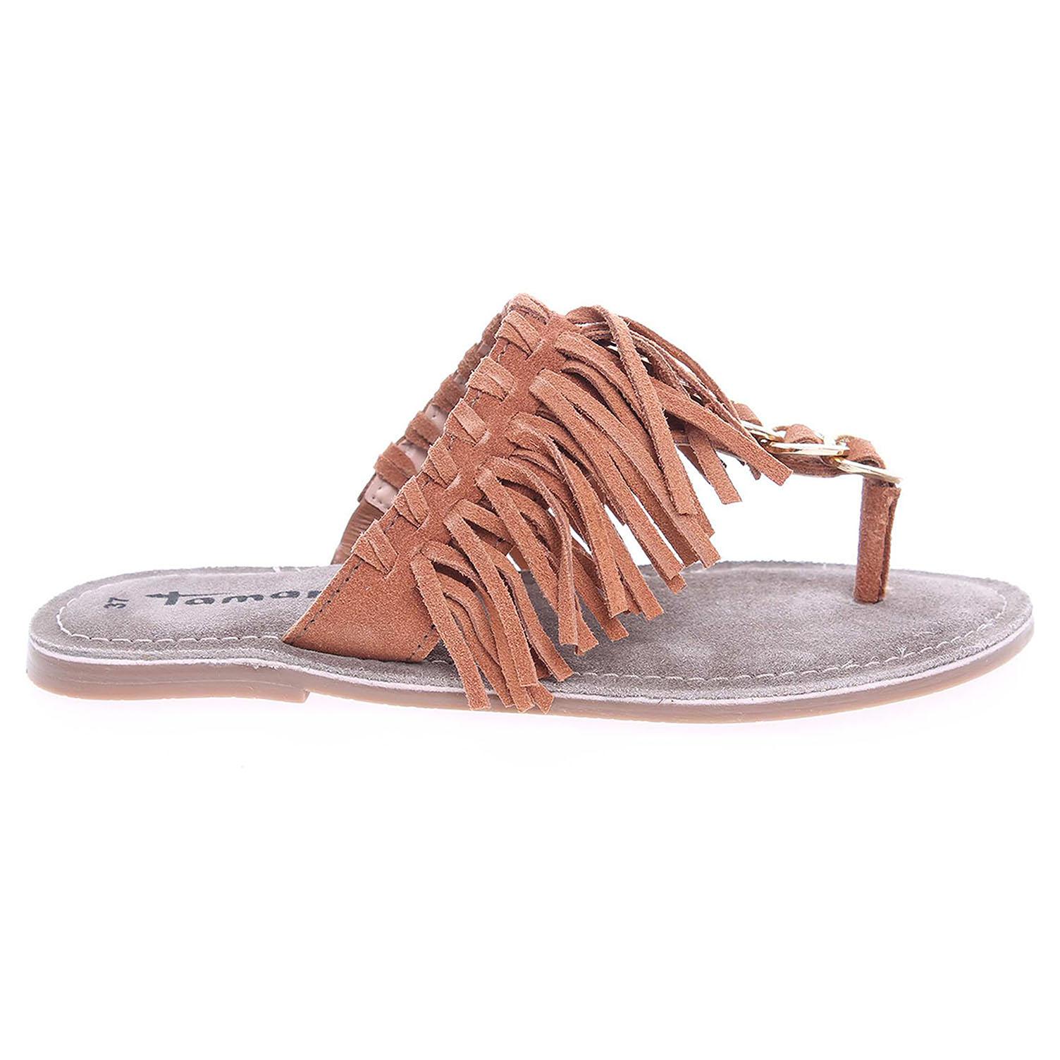 Ecco Tamaris dámské pantofle 1-27136-36 hnědé 23600736