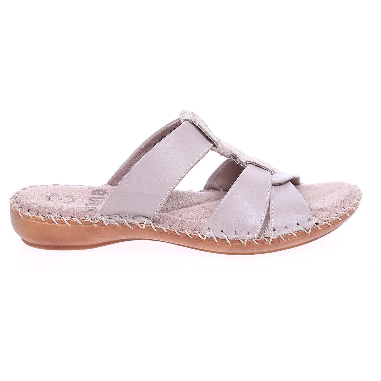 Ecco Jana dámské pantofle 8-27107-26 béžové 23600744