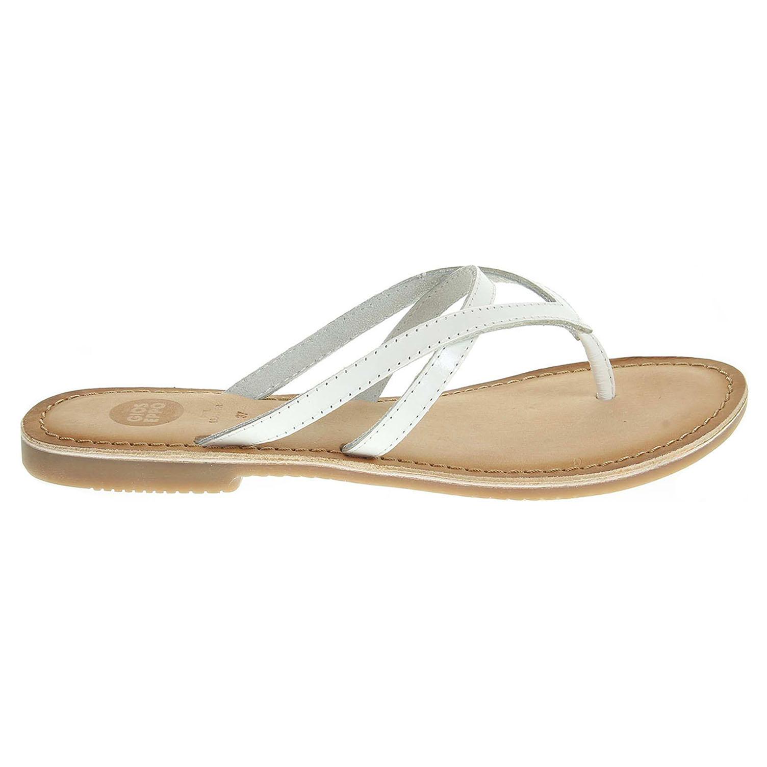 Ecco Gioseppo Miteva dámské pantofle bílé 23600748