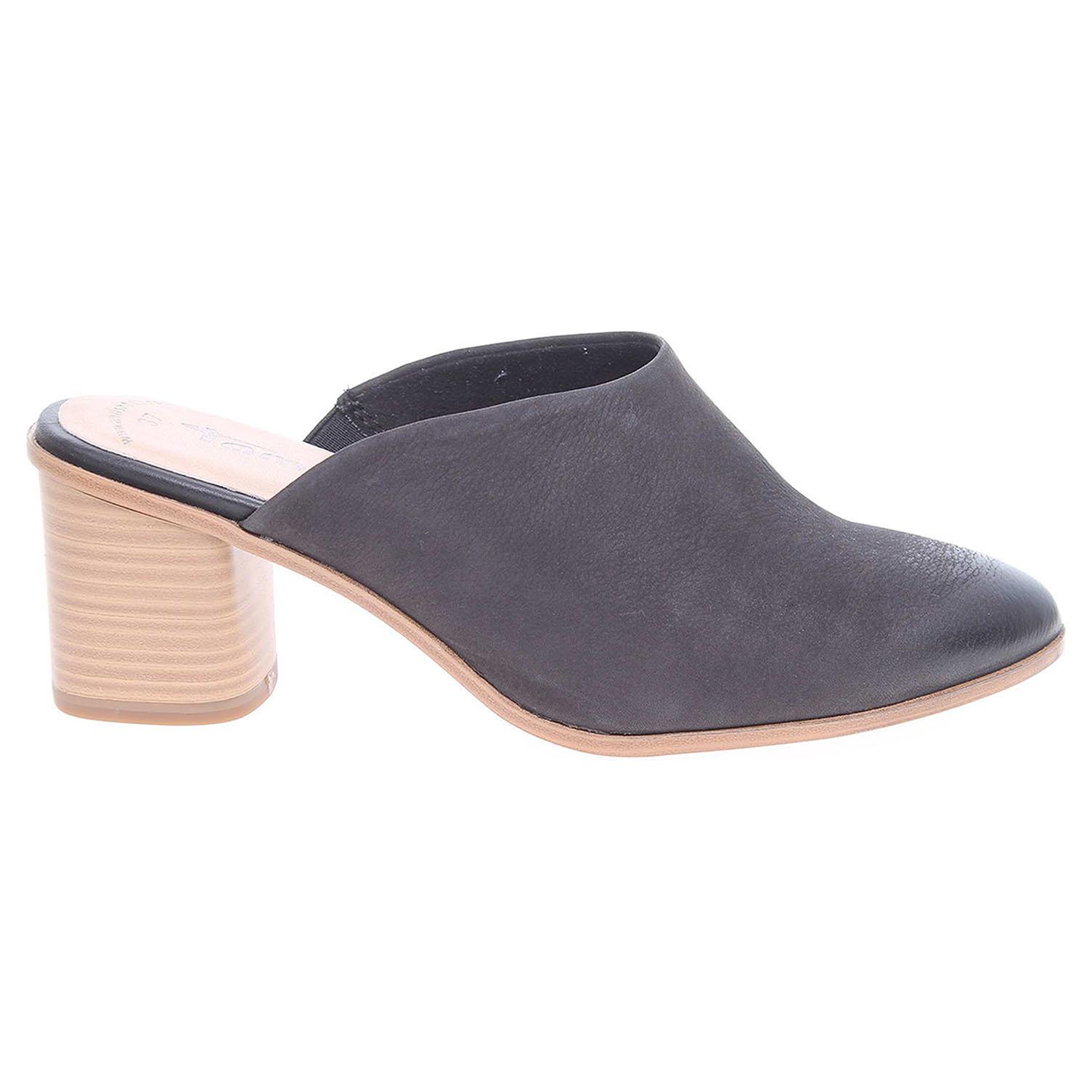Ecco Tamaris dámské pantofle 1-27217-38 černé 23600754