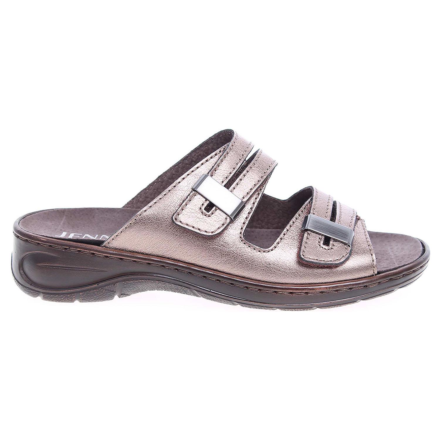 Ecco Ara dámské pantofle 56554-10 titan 23600779