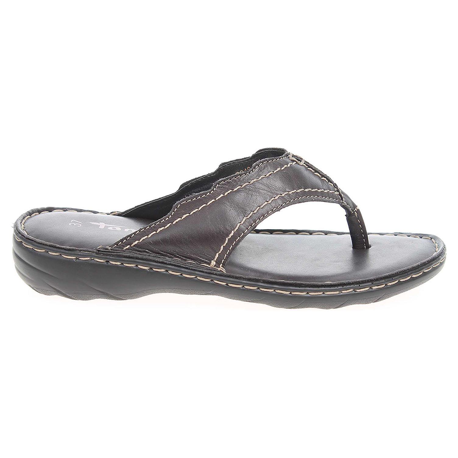 Ecco Tamaris dámské pantofle 1-27210-28 černé 23600785