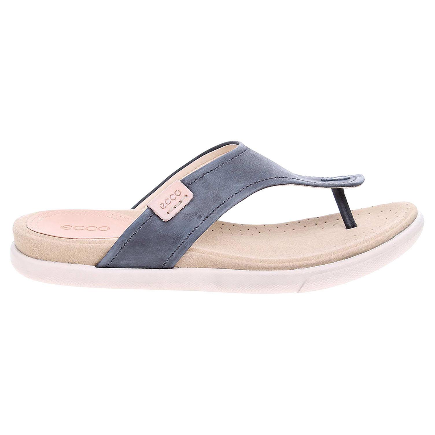 Ecco Damara dámské pantofle 24825302001 šedé 41
