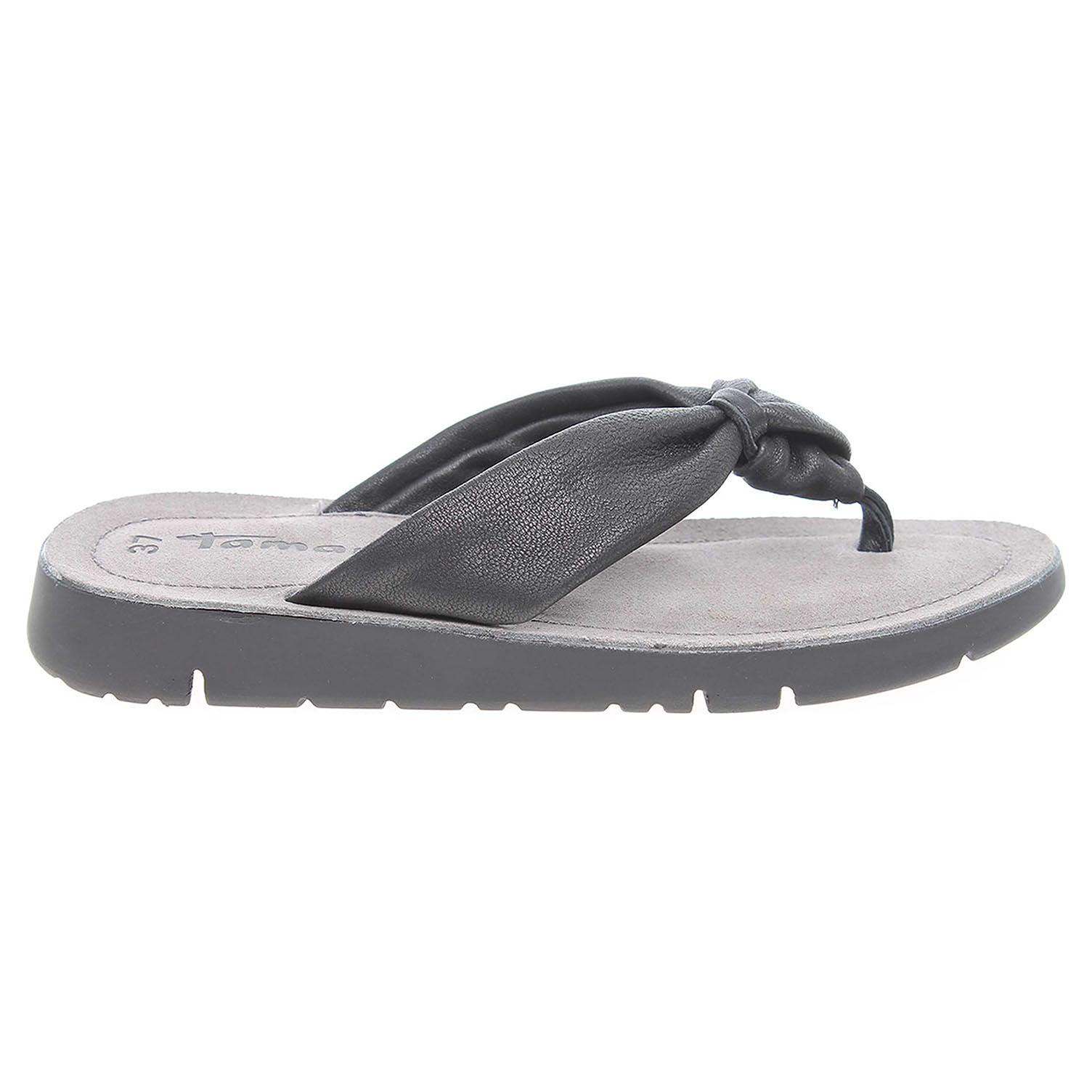 Ecco Tamaris dámské pantofle 1-27124-38 černé 23600805
