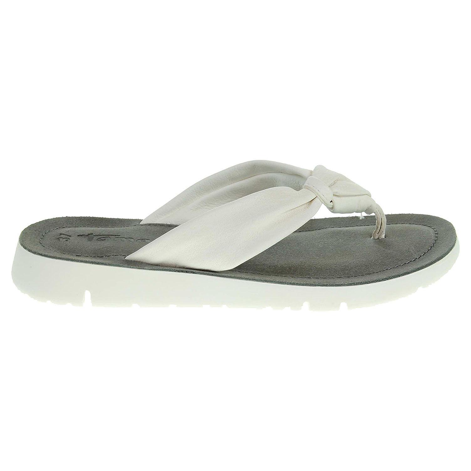 Ecco Tamaris dámské pantofle 1-27124-38 bílé 23600807