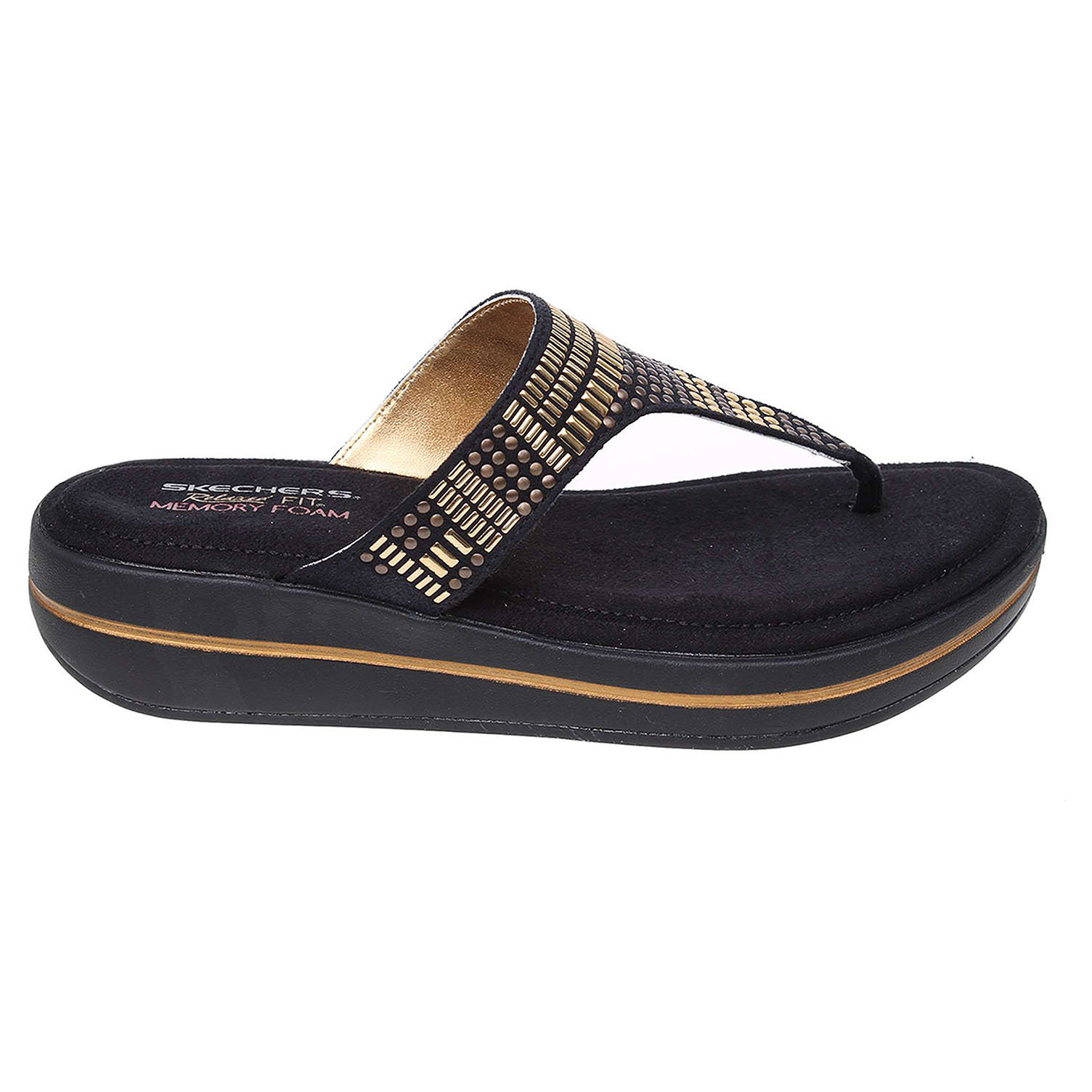 Skechers Studly black-gold 40