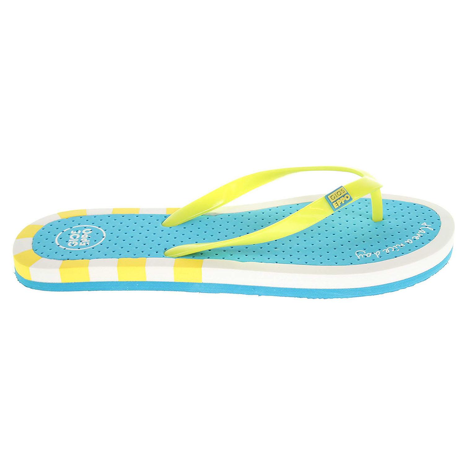 Gioseppo Almena 1 yellow dámské plážové pantofle 41