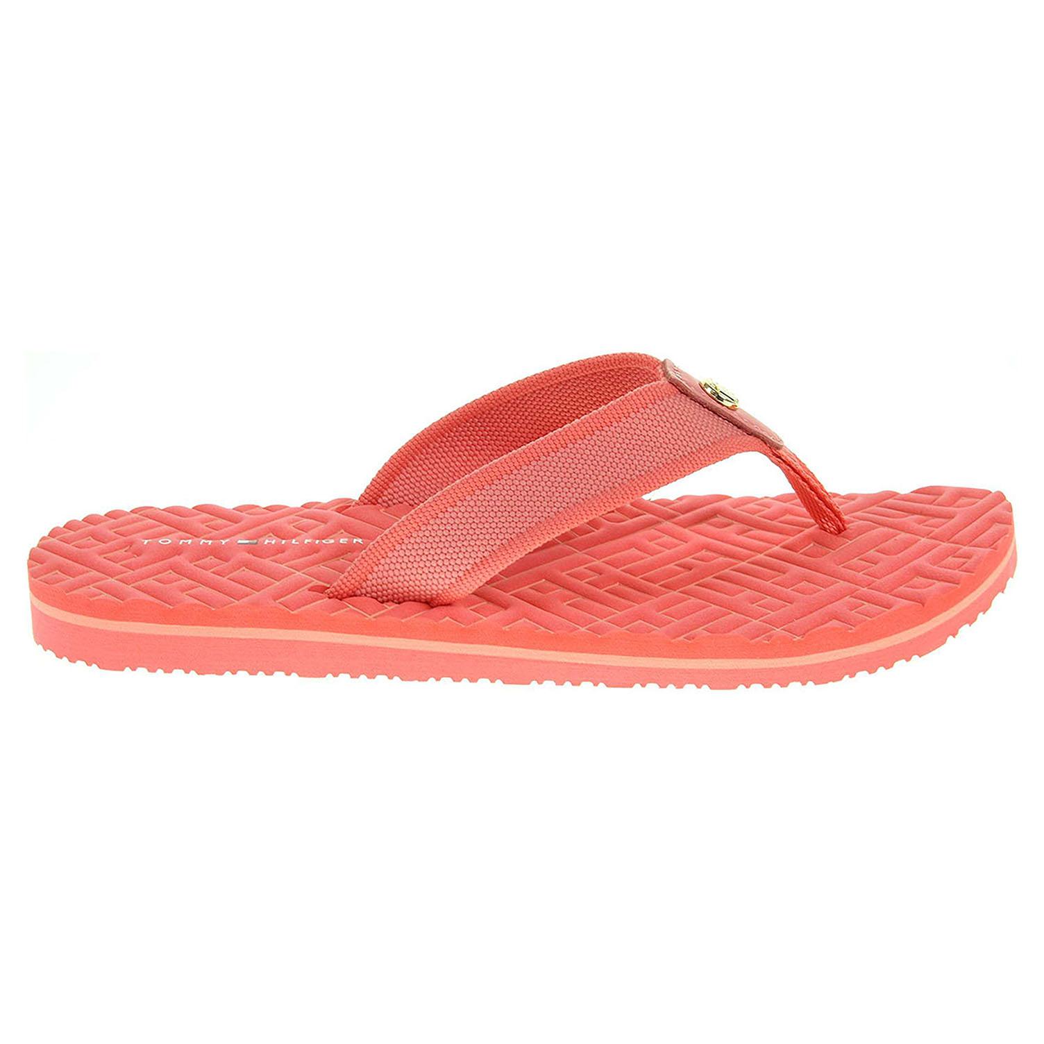 Tommy Hilfiger dámské pantofle FW0FW00933 oranžové 41