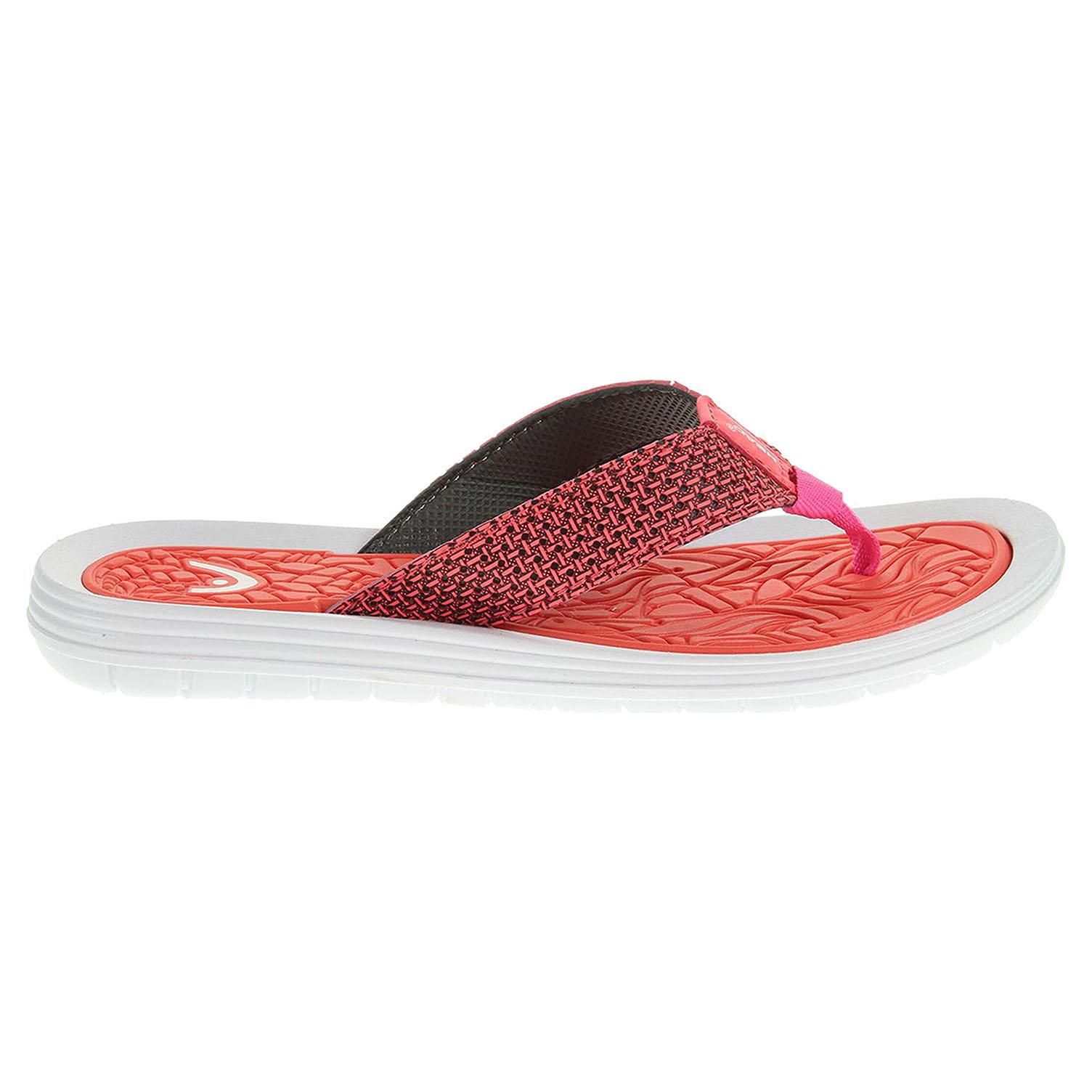 Ecco Head plážové pantofle HY-210-35-01 oranžové 23700332