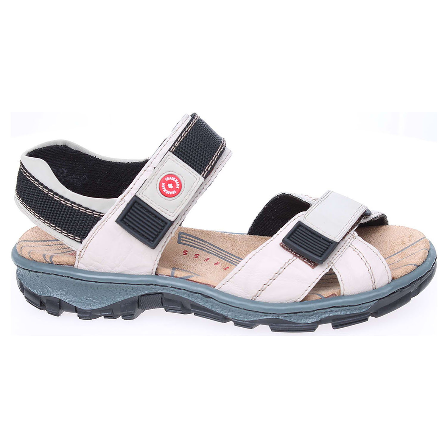 Rieker dámské sandály 68851-60 béžové 38