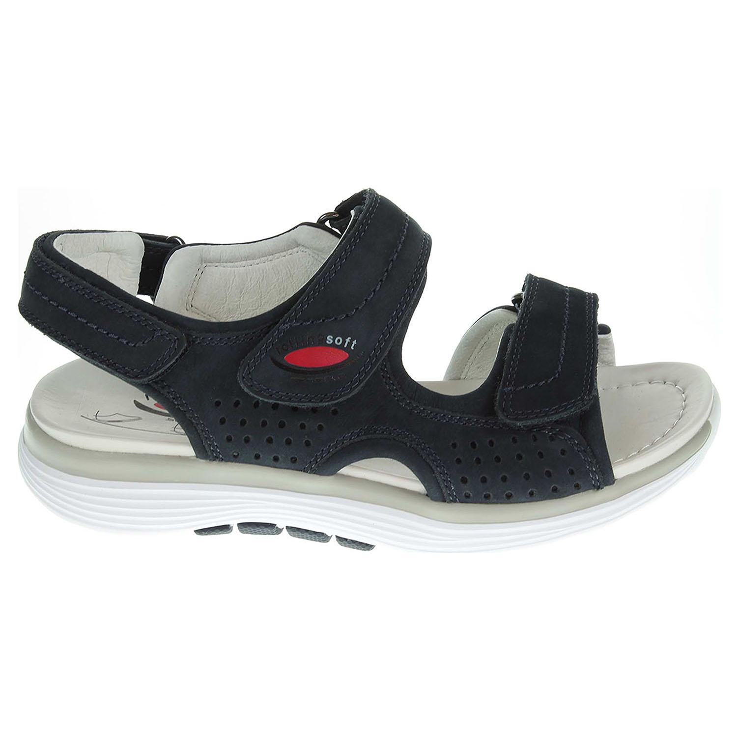Ecco Gabor dámské sandály 46.910.46 modré 23800919
