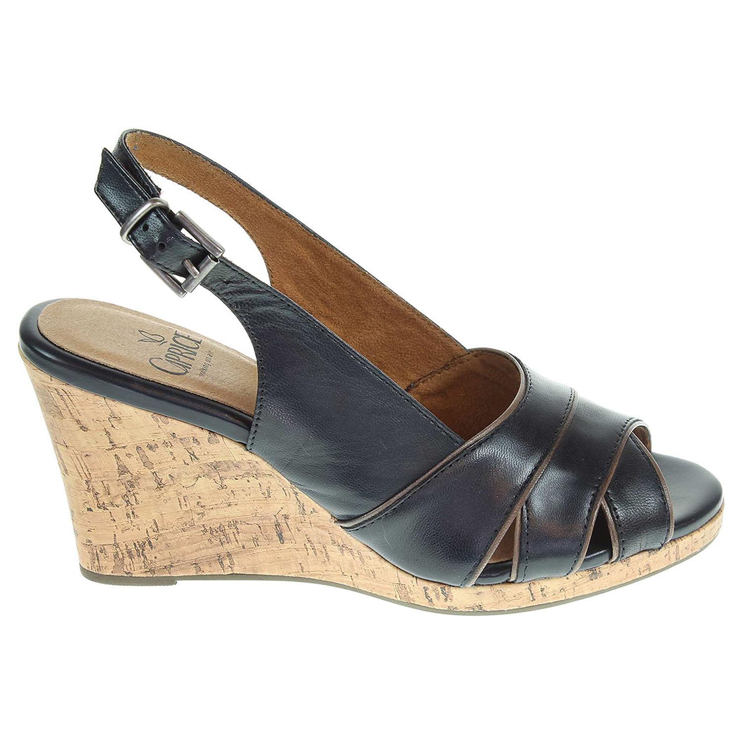 Ecco Caprice dámské sandály 9-28307-34 modré 23800945