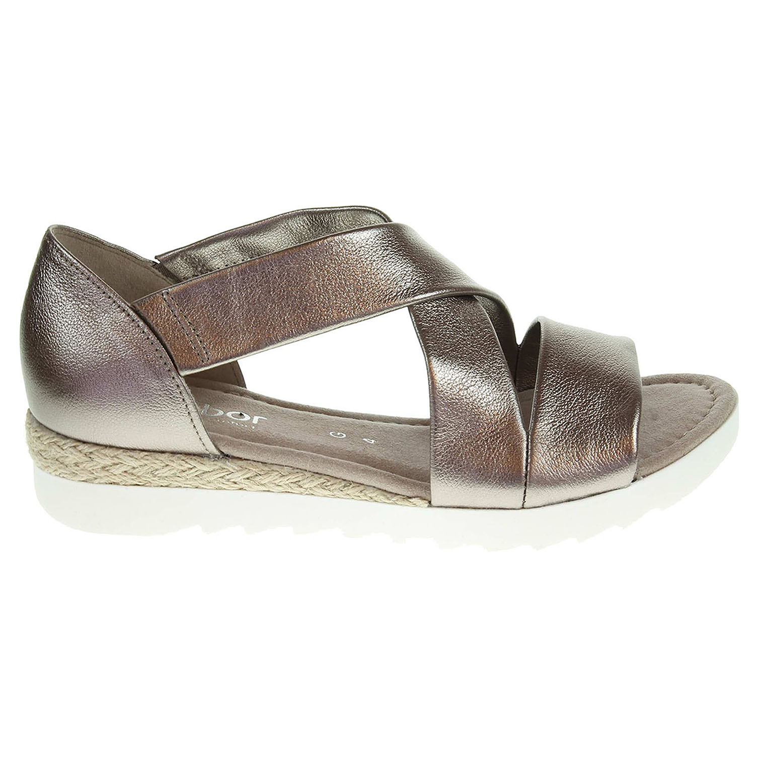 Ecco Gabor dámské sandály 62.711.64 bronzové 23800963