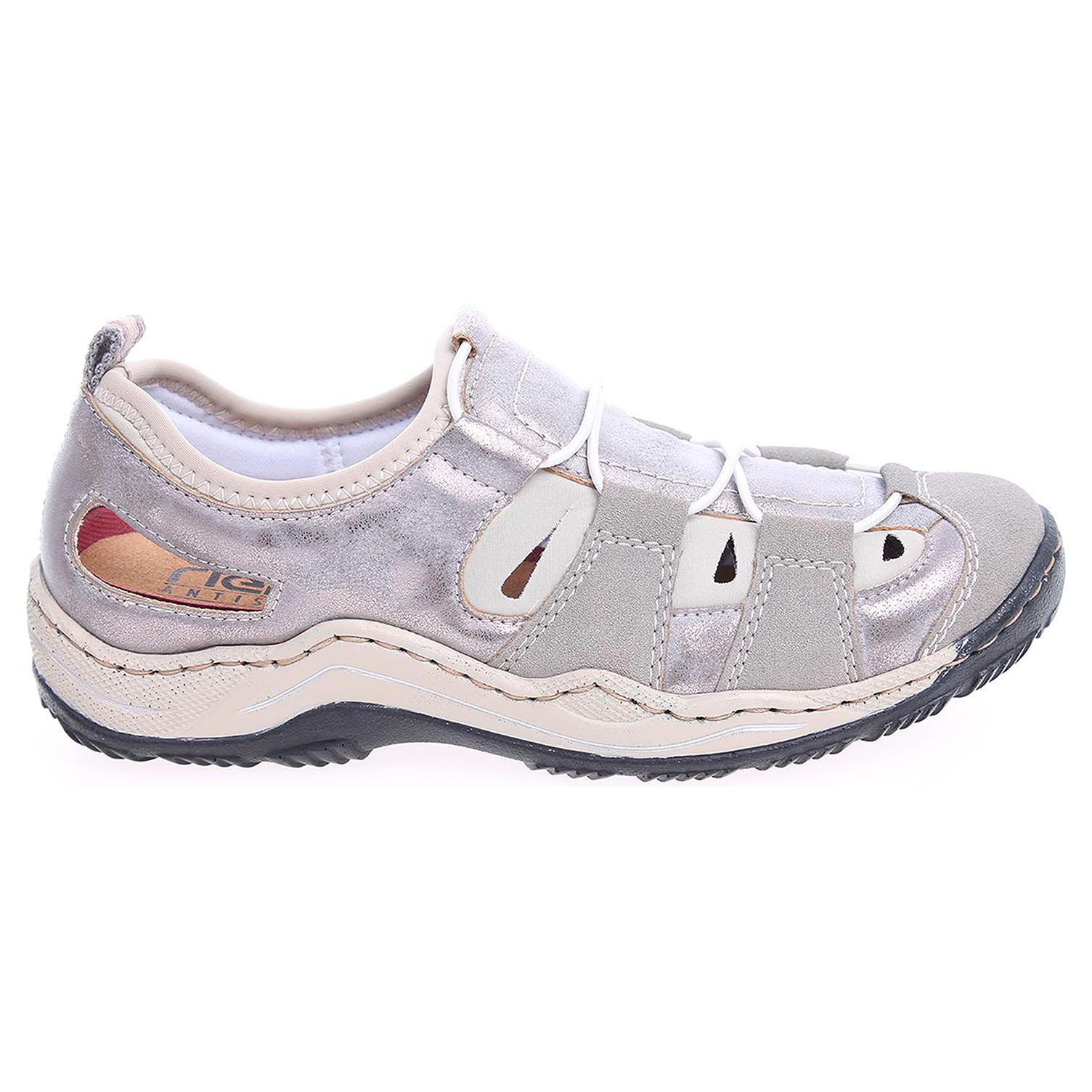 Rieker dámské sandály L0561-41 šedé 36