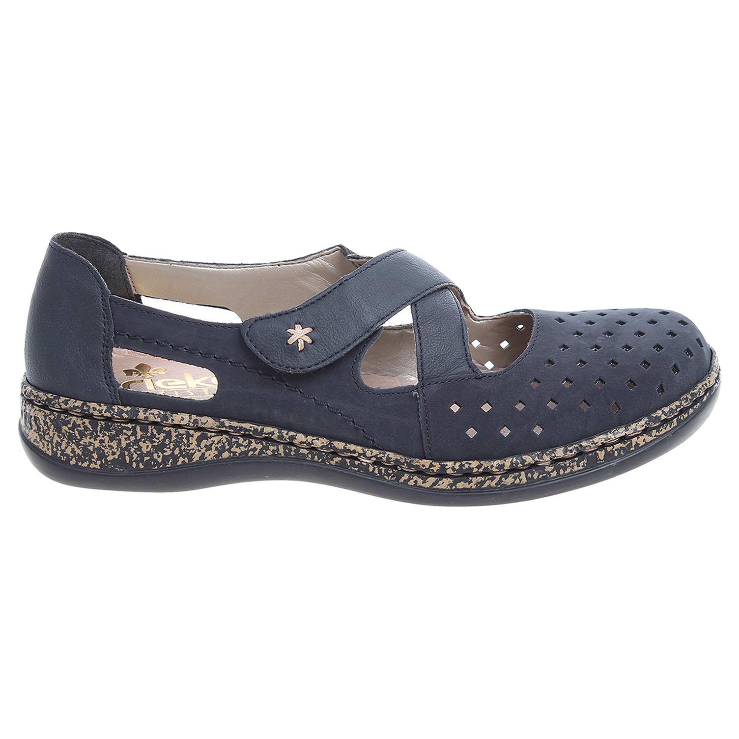 Rieker dámské sandály 46345-14 modré 37
