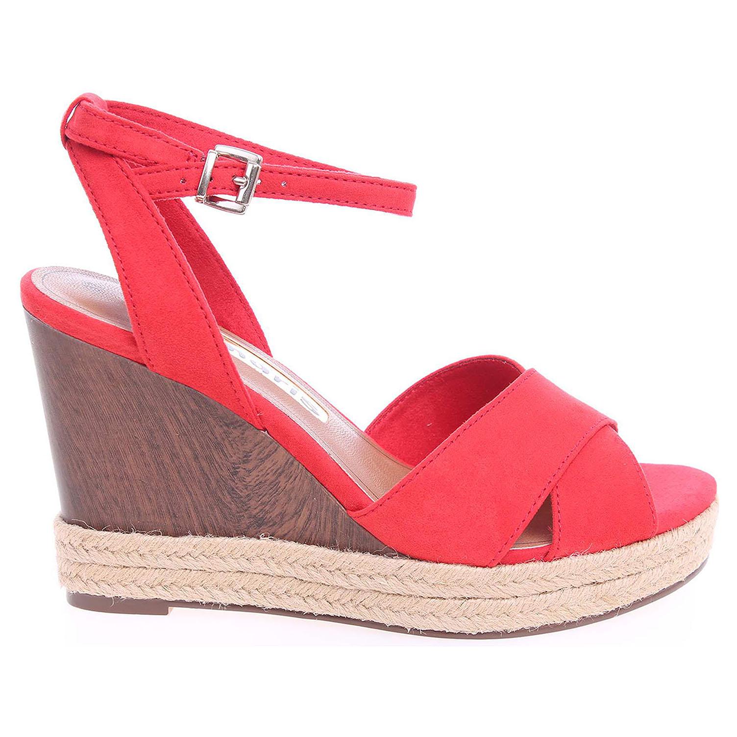 Tamaris dámské sandály 1-28368-36 červené 39