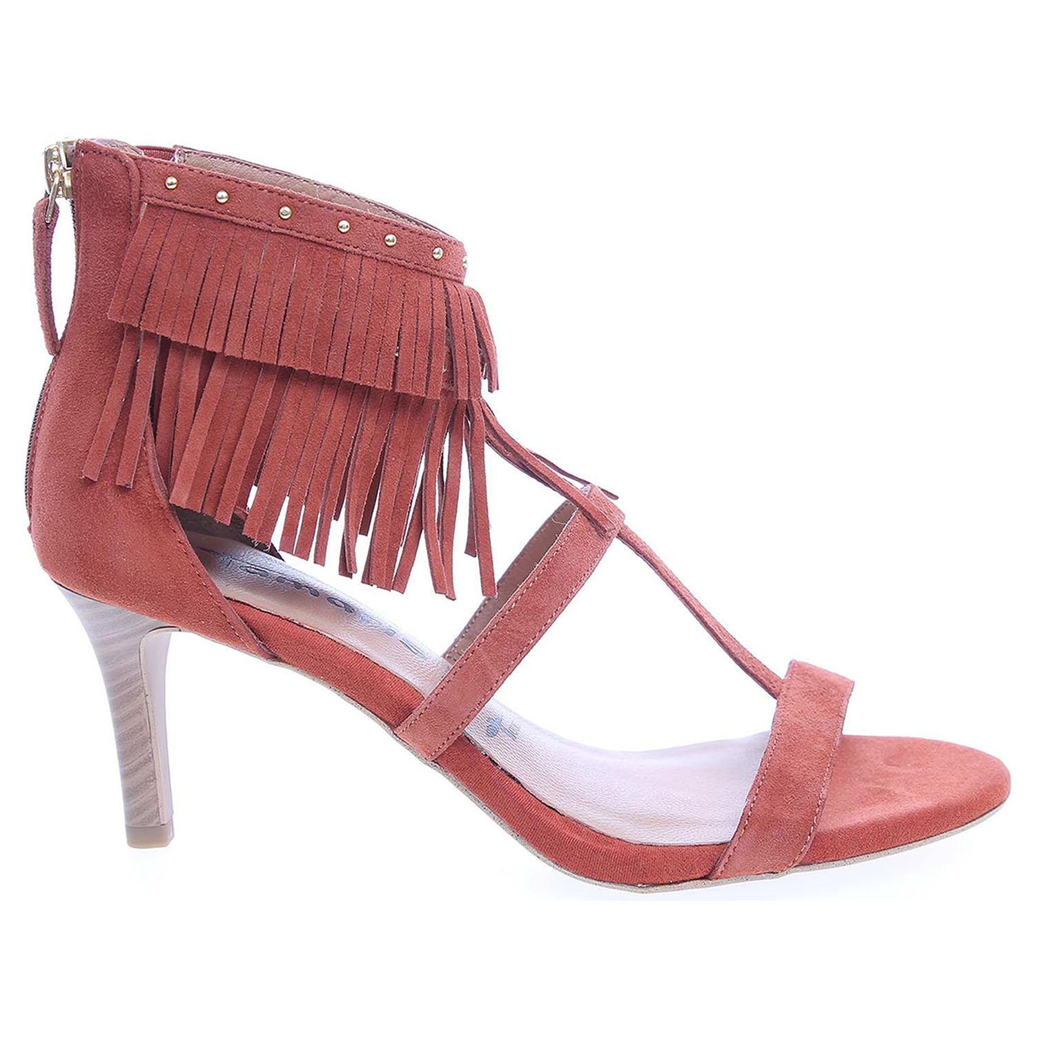 Ecco Tamaris dámské sandály 1-28346-26 cihlové 23801009