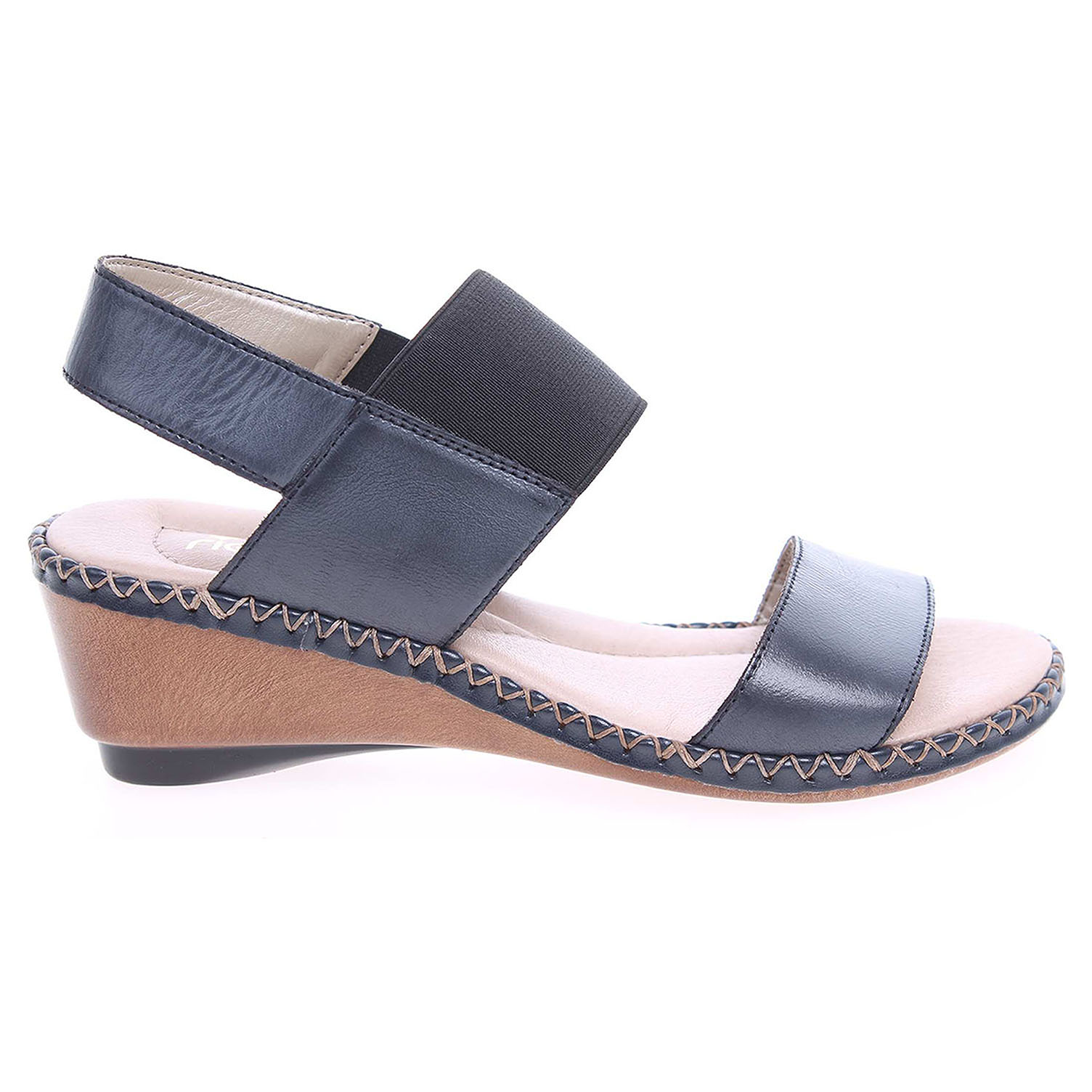 Rieker dámské sandály 66162-12 modré 37