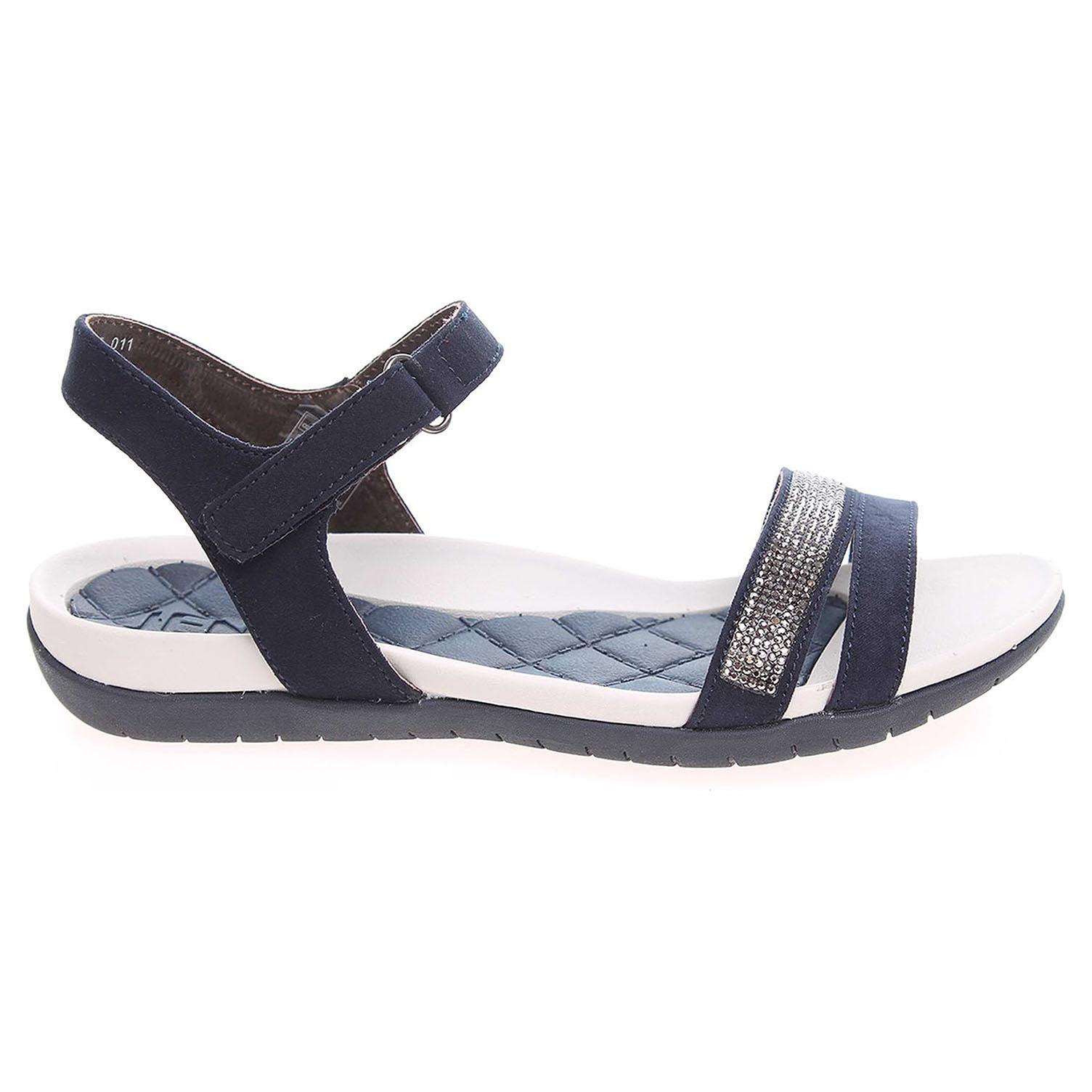 Ecco Ara dámské sandály 55909-02 modré 23801076