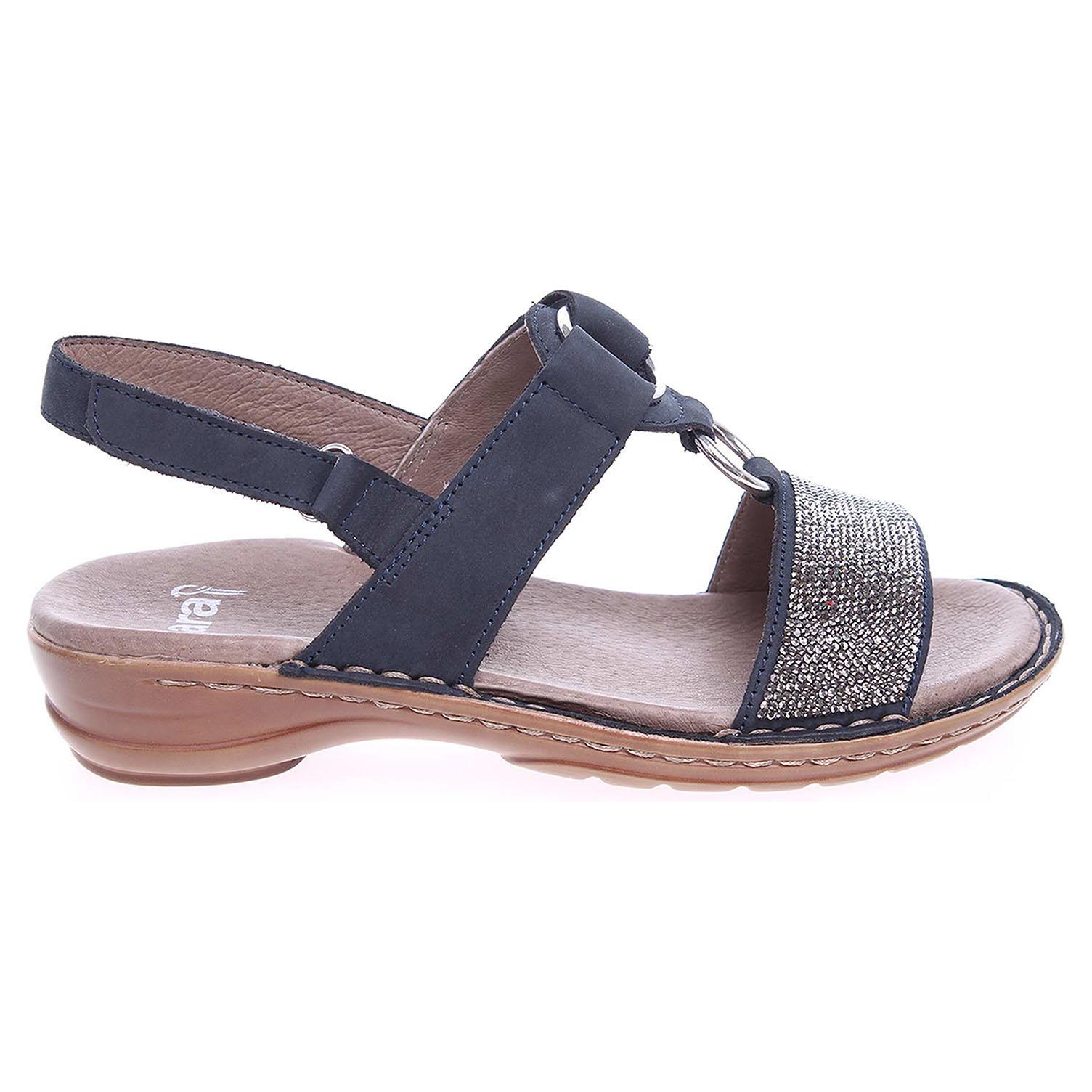 Ecco Ara dámské sandály 37291-02 modré 23801088