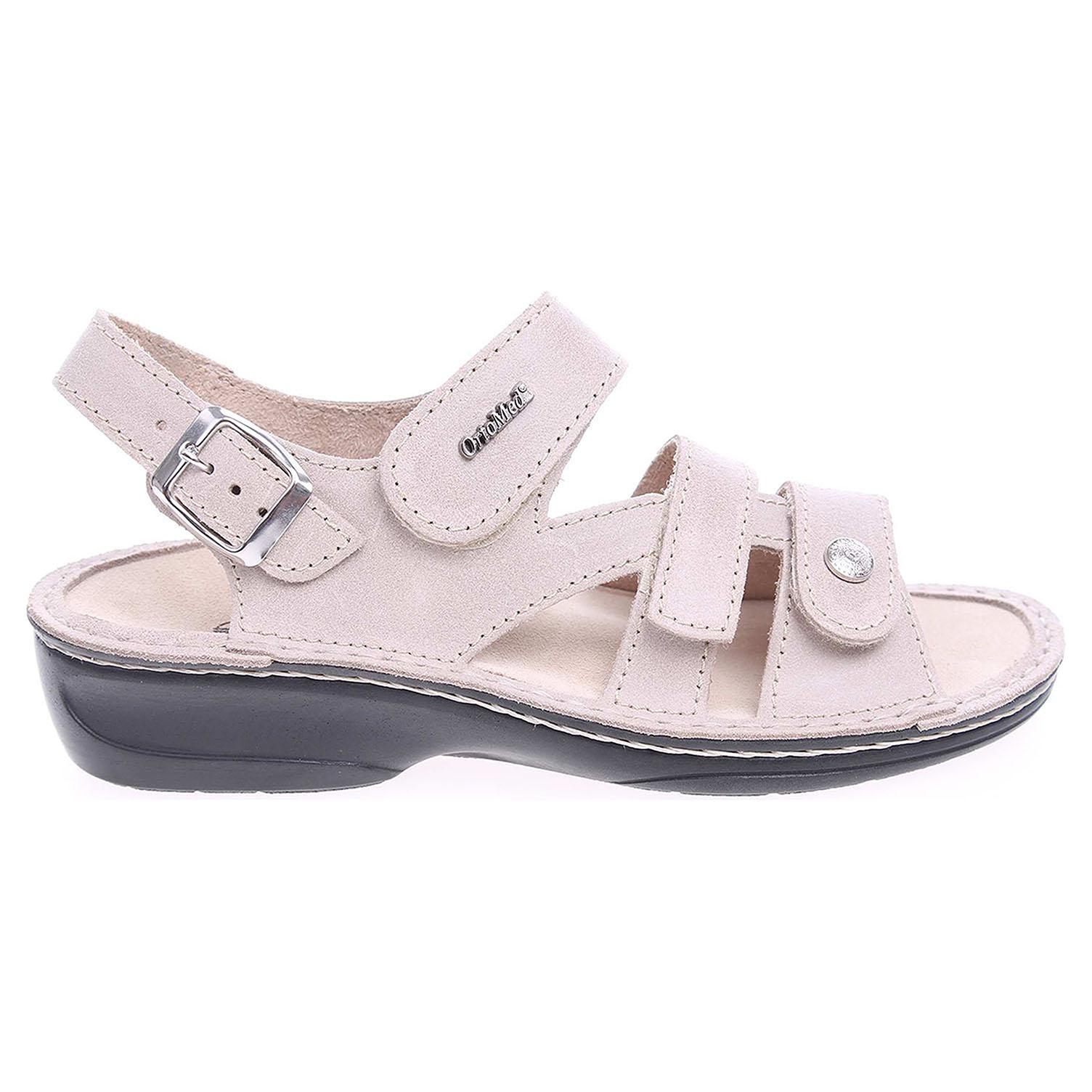 Ecco OrtoMed dámské sandály 3724-012-P61 béžové 23801089