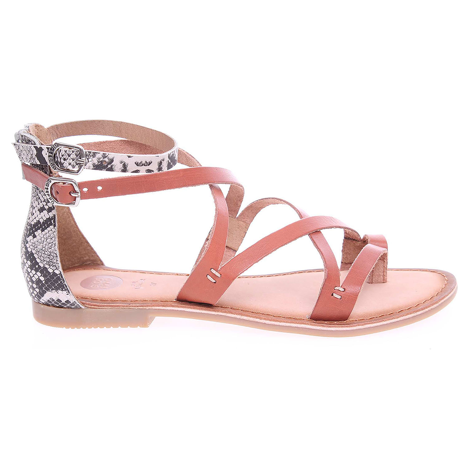 Gioseppo Arnay dámské sandály hnědé 41