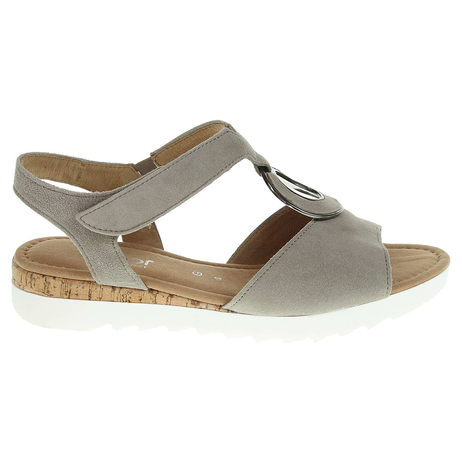 Ecco Gabor dámské sandály 62.745.42 béžové 23801105
