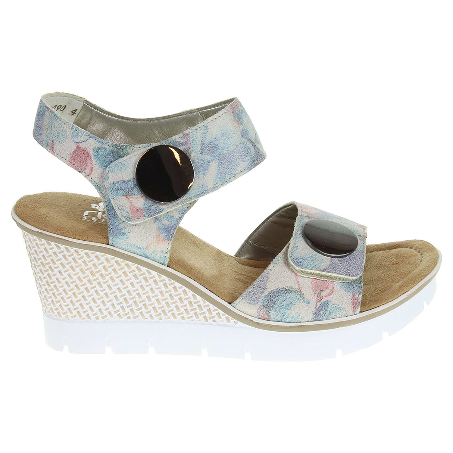 Rieker dámské sandály 68569-90 multicolour 36