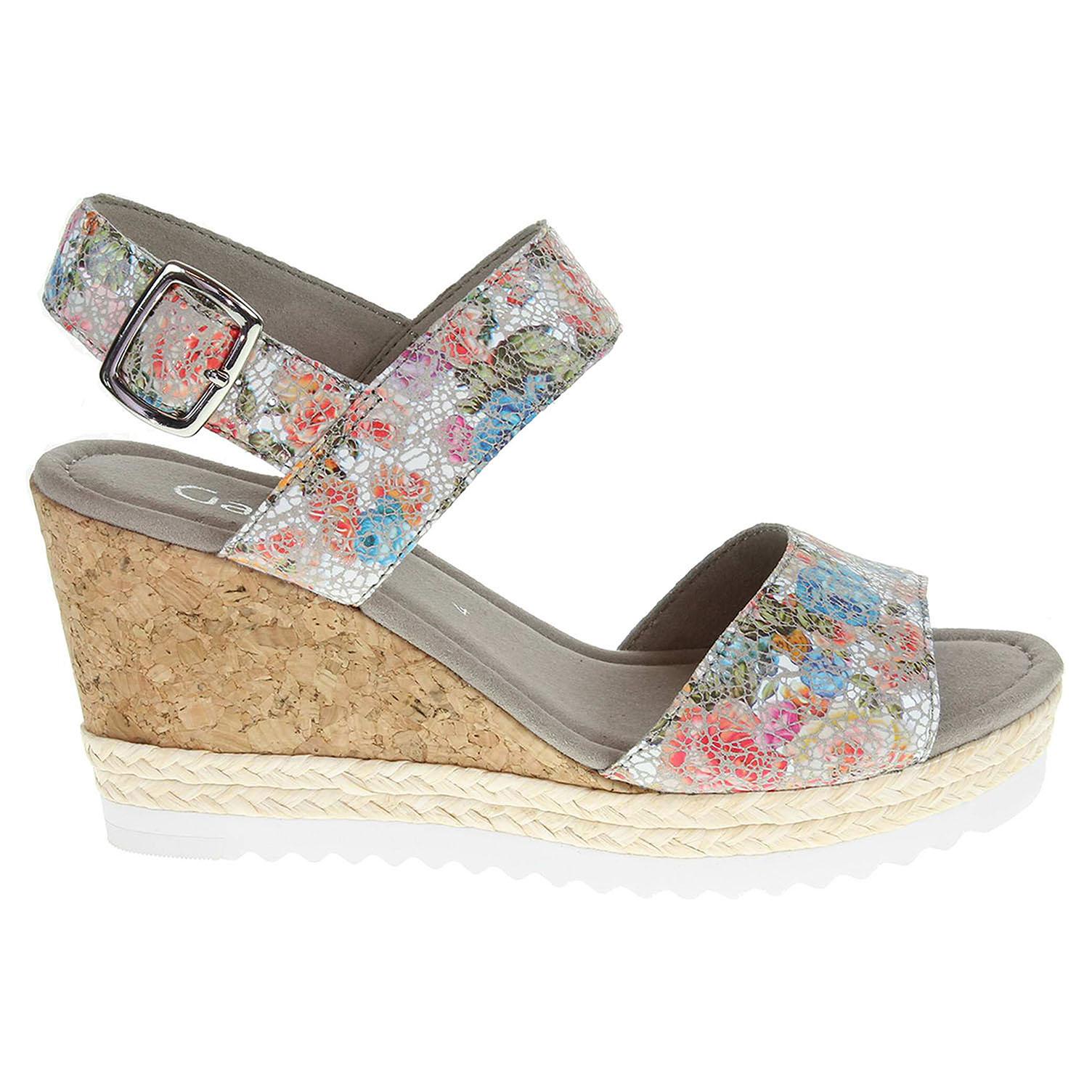 Ecco Gabor dámské sandály 65.790.43 multicolour 23801112