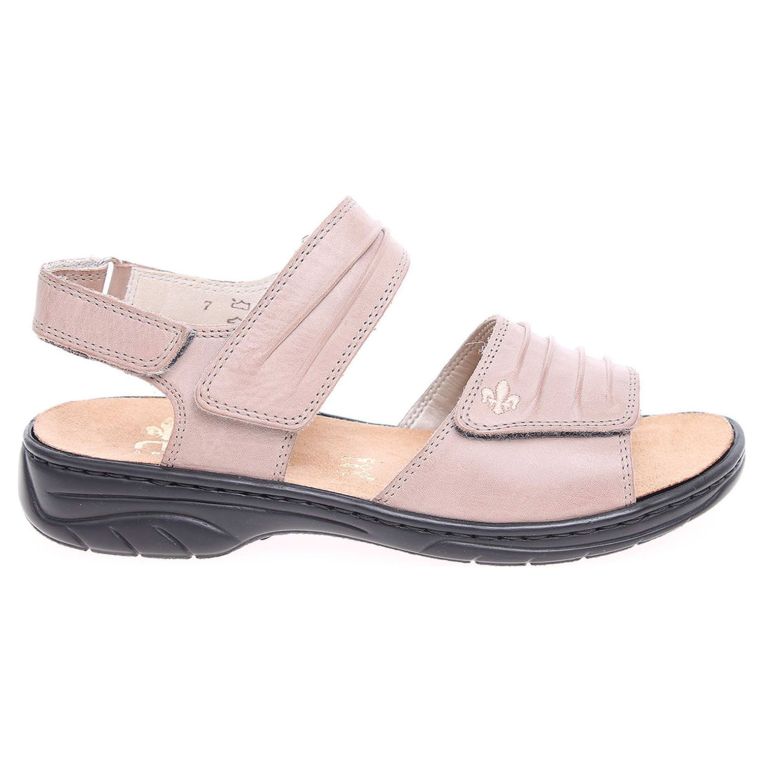 Rieker dámské sandály 64560-42 béžové 38