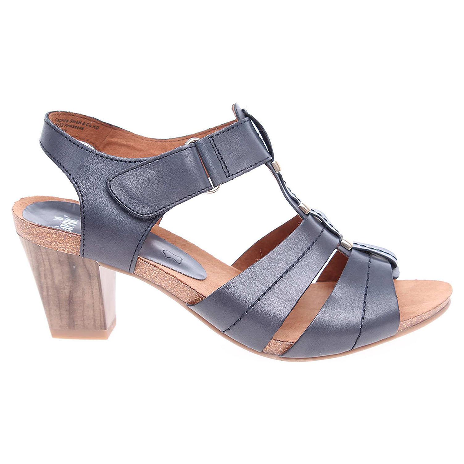 Ecco Caprice dámské sandály 9-28309-28 modré 23801122