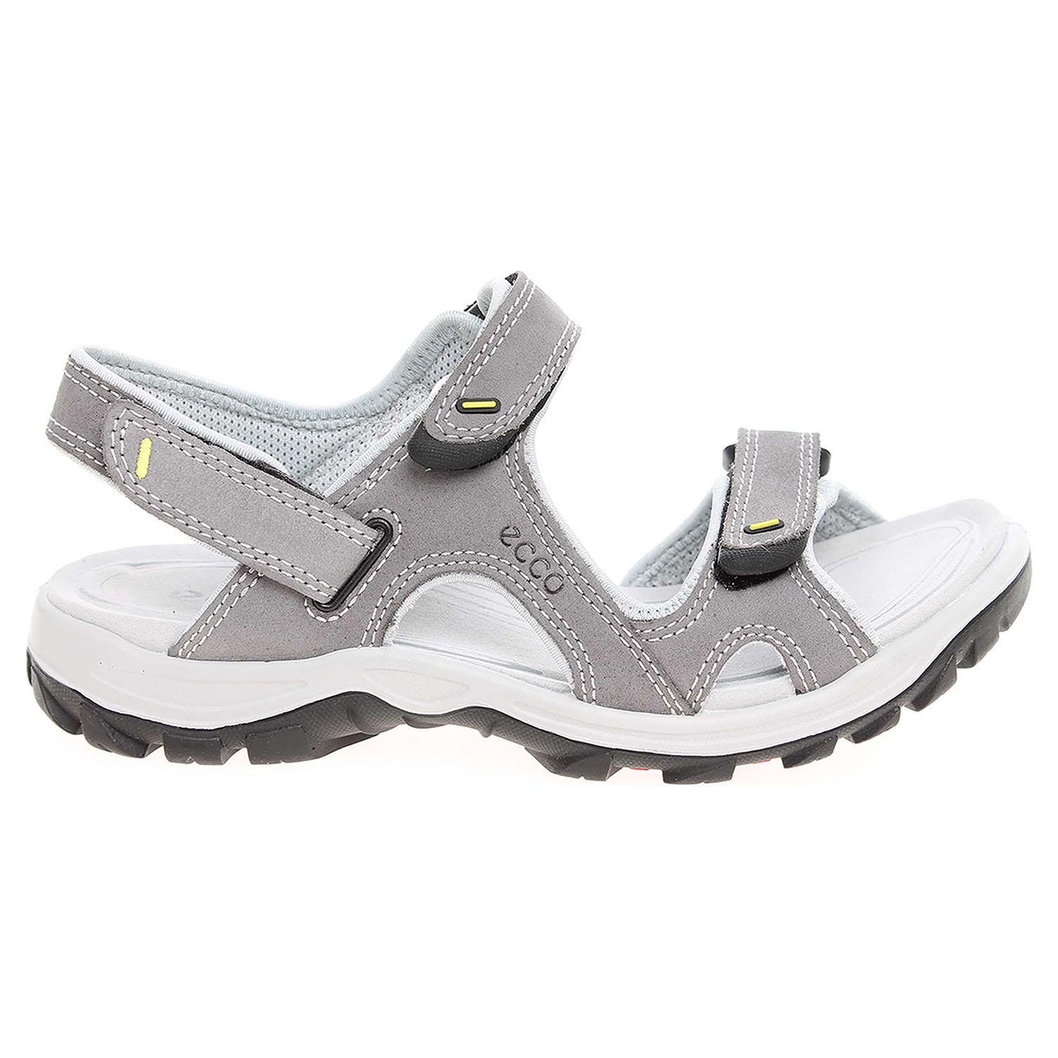 Ecco Offroad Lite dámské sandály 82005354302 šedé 41
