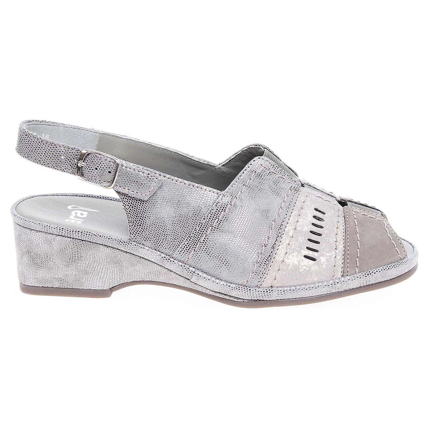 Ecco Ara dámské sandály 37039-16 šedé 23801140