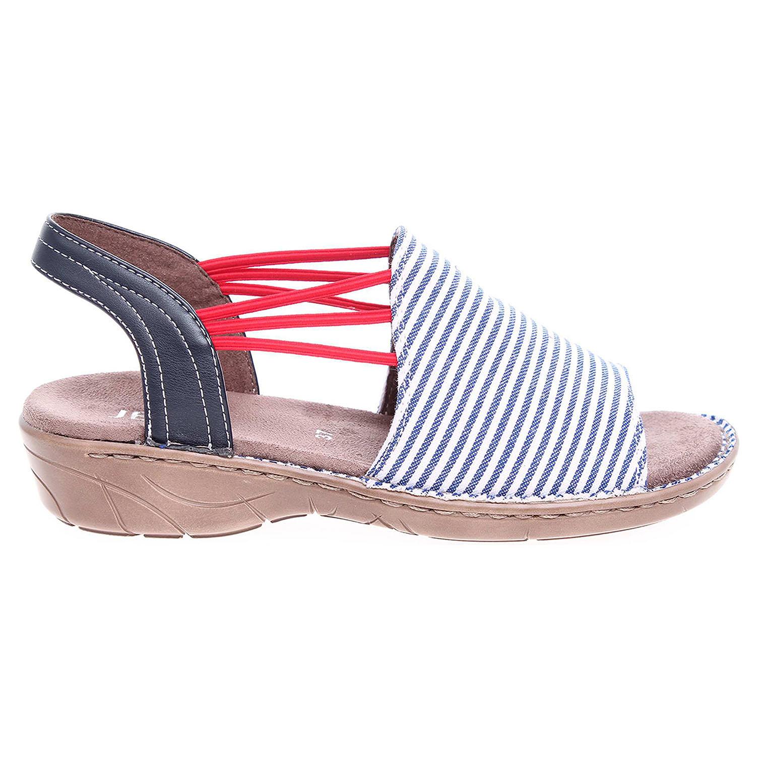 Ecco Ara dámské sandály 57283-78 modré 23801141