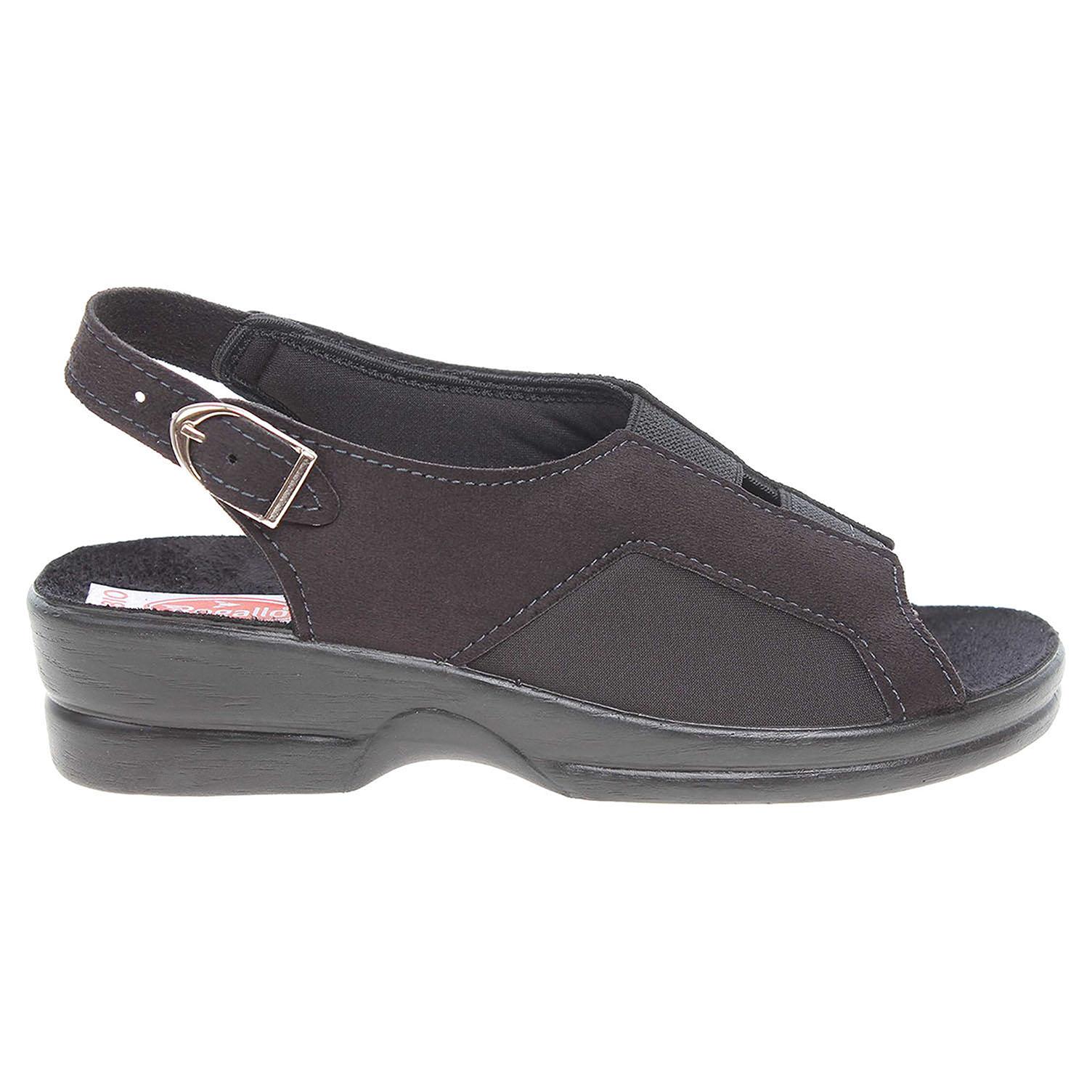 Rogallo dámské sandály 21681 černé 41