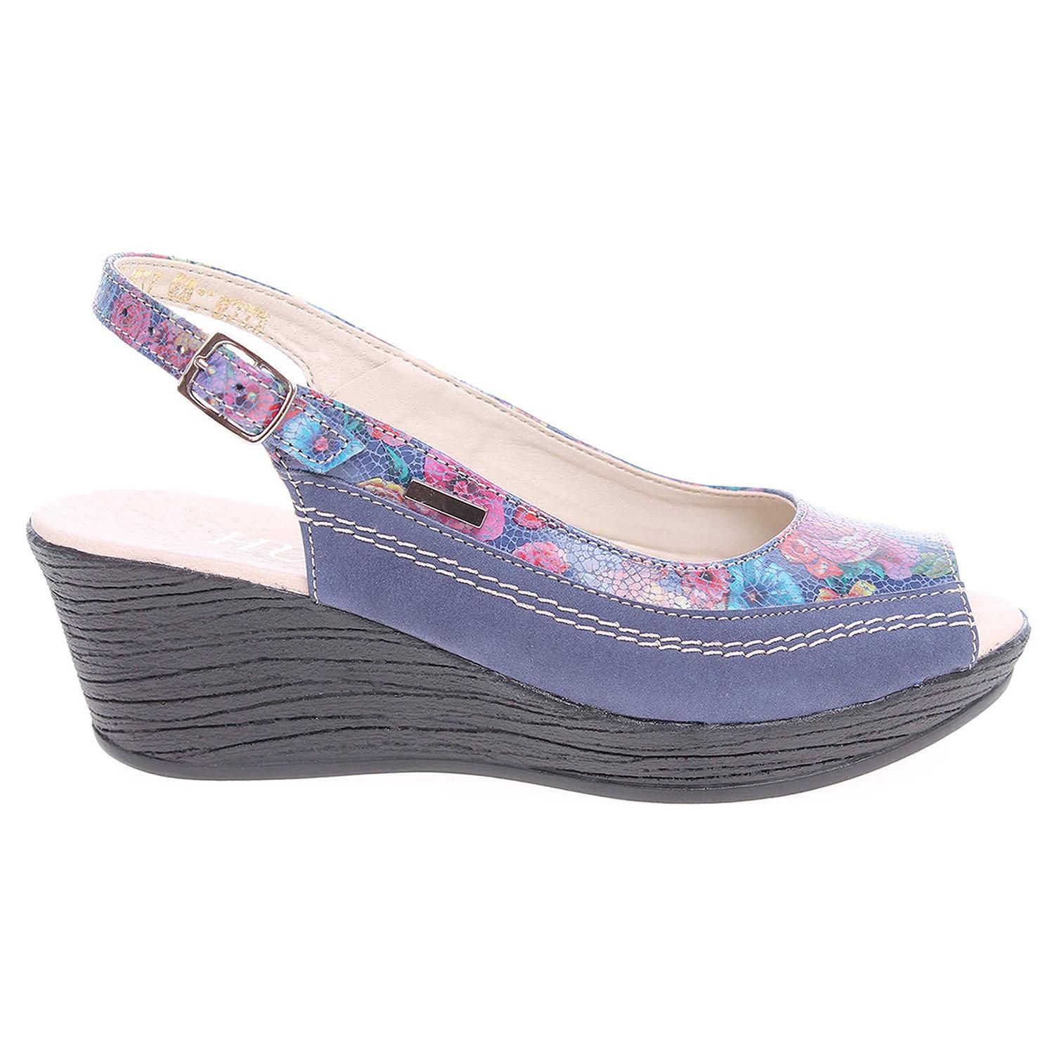 Dámské sandály J3273 modré 41