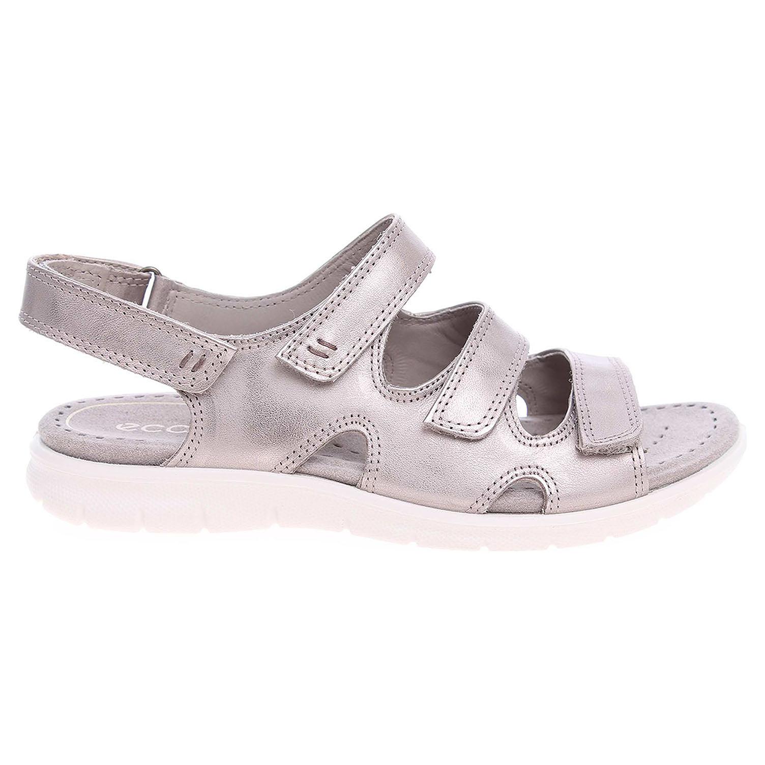 Ecco Babett dámské sandály 21401311459 bronzové 41