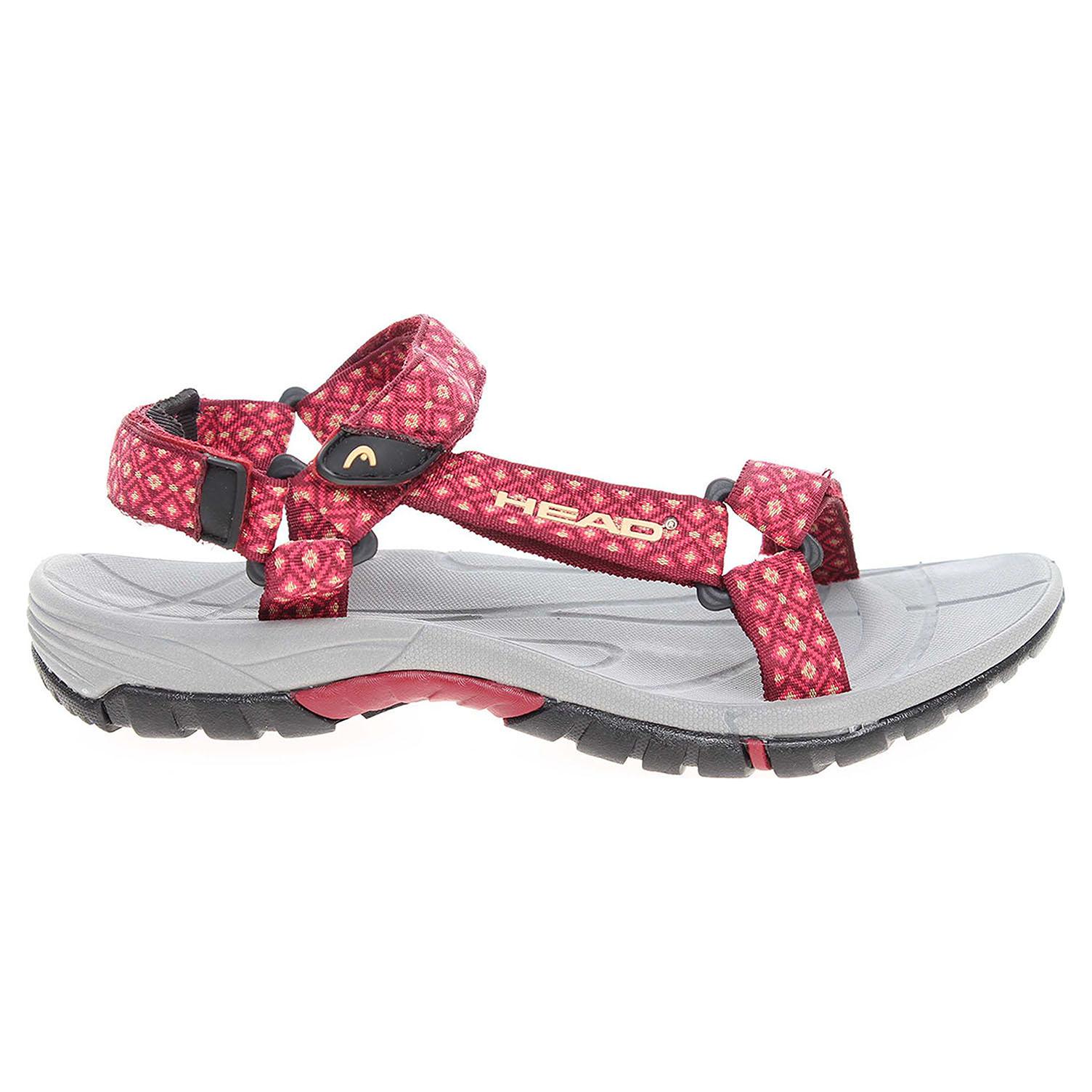 Ecco Head dámské sandály HY-212-25-03 červené 23801176
