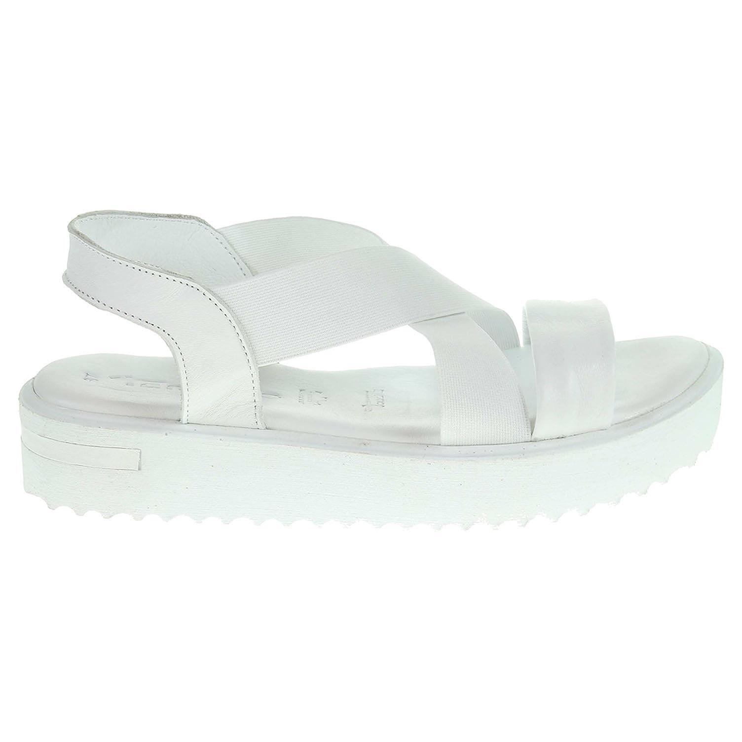 Ecco Tamaris dámské sandály 1-28219-38 bílé 23801178
