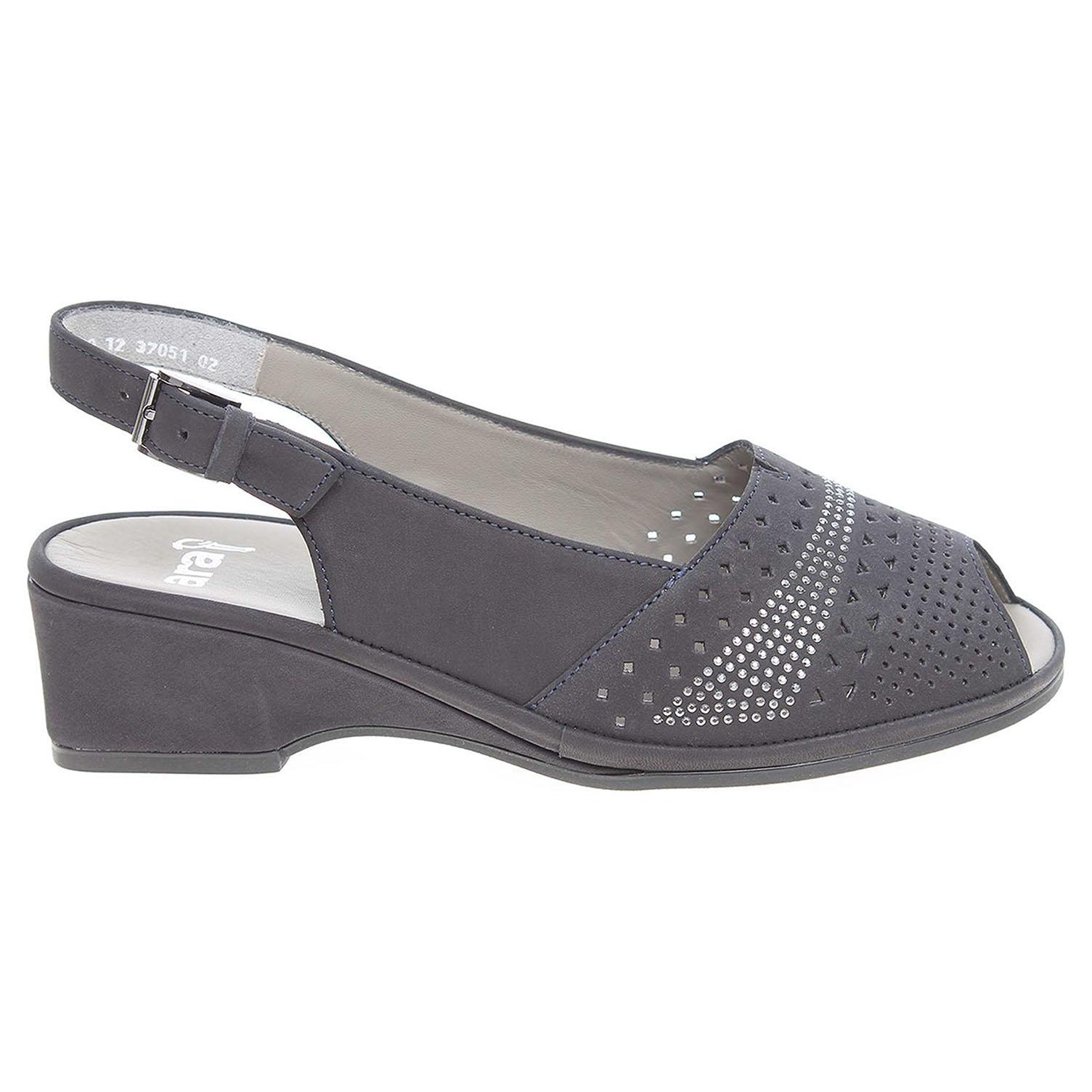 Ecco Ara dámské sandály 37051-02 modré 23801200