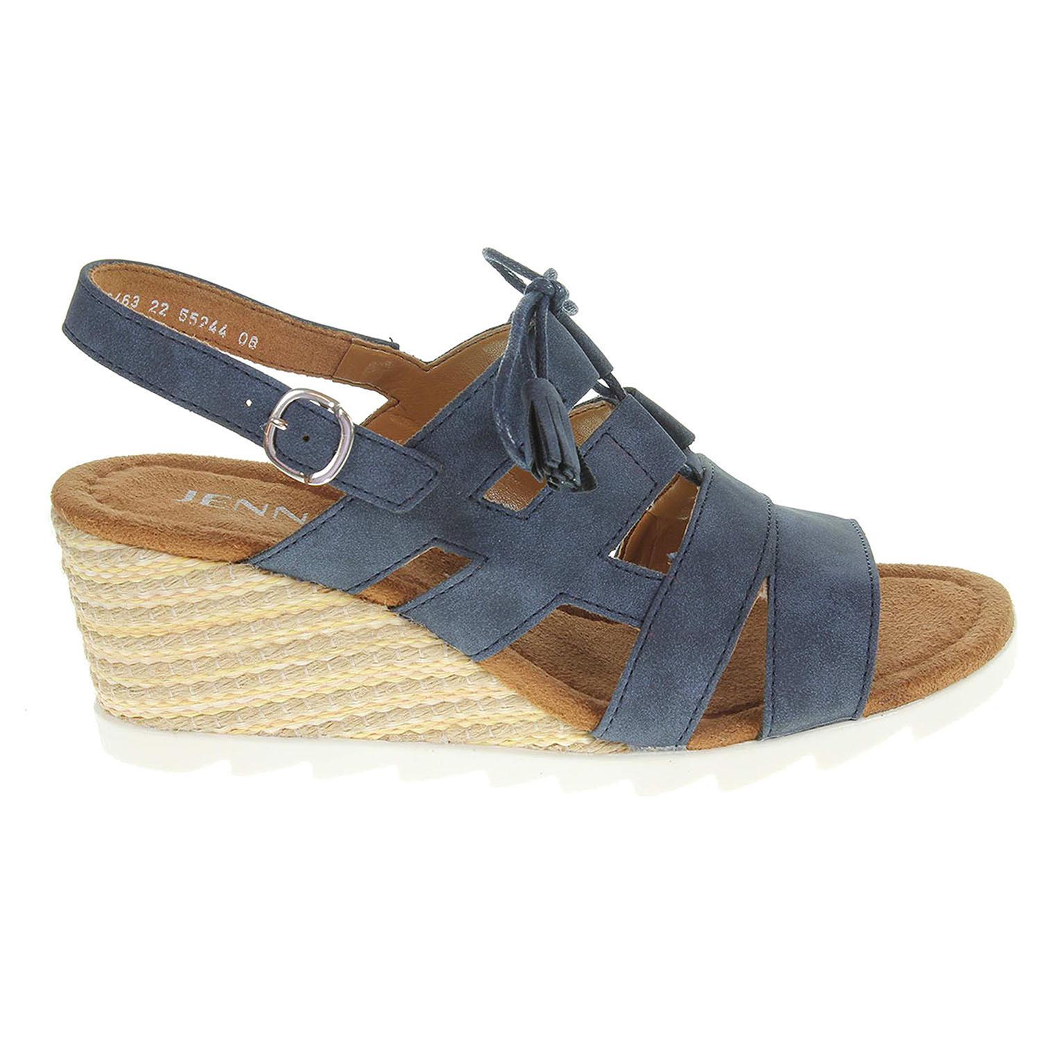 Ecco Ara dámské sandály 55244-08 modré 23801201